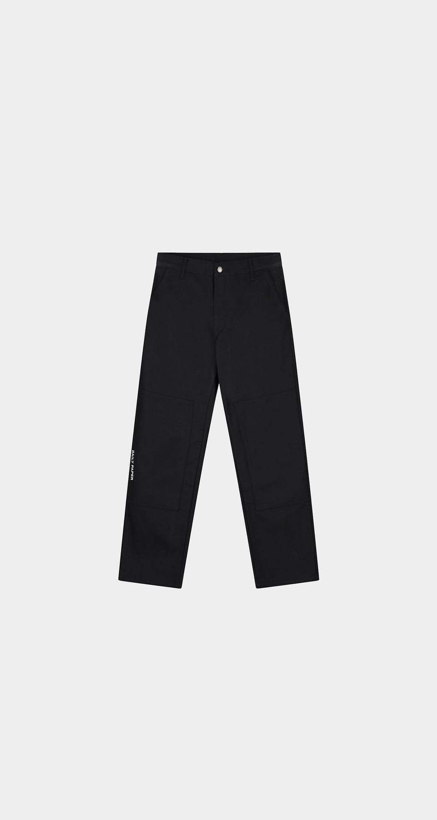 Daily Paper - Black Rework Pants - Men Front