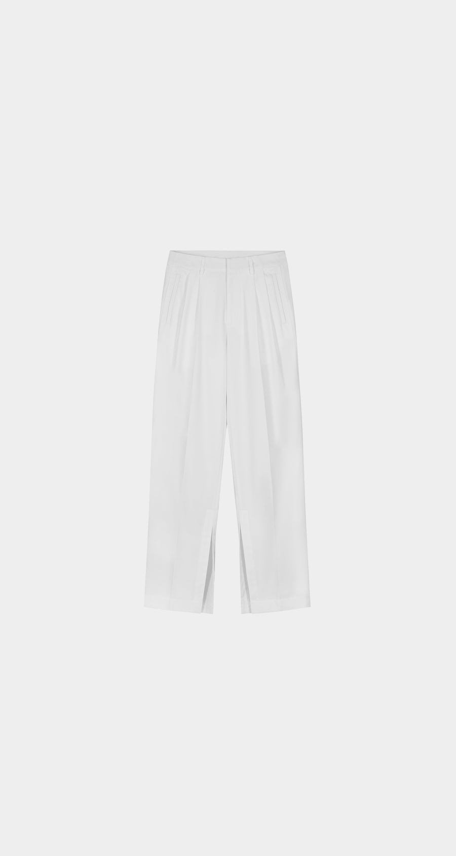 Daily Paper - White Kohan Pants - Men Front