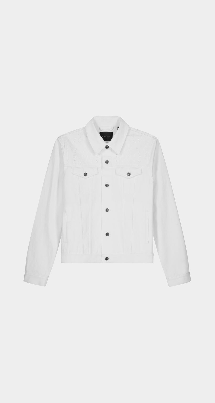 Daily Paper - White Kajean Jacket - Men Front