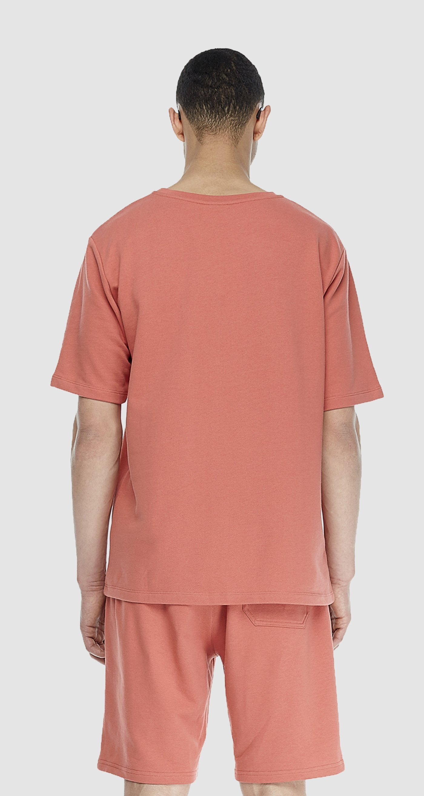 Salmon French Terry T-shirt