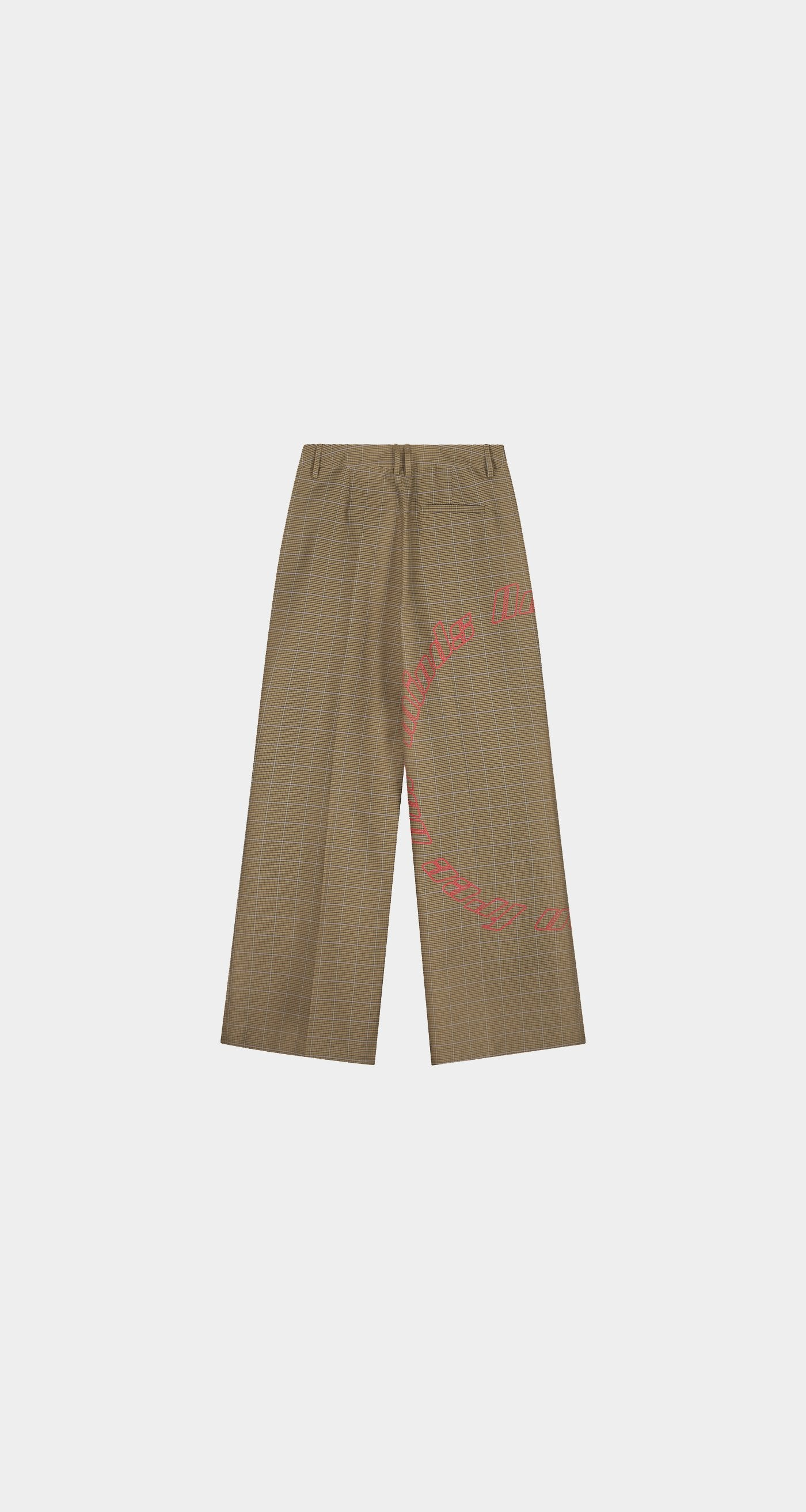 Daily Paper - Sand Checked Keanu Pants - Men
