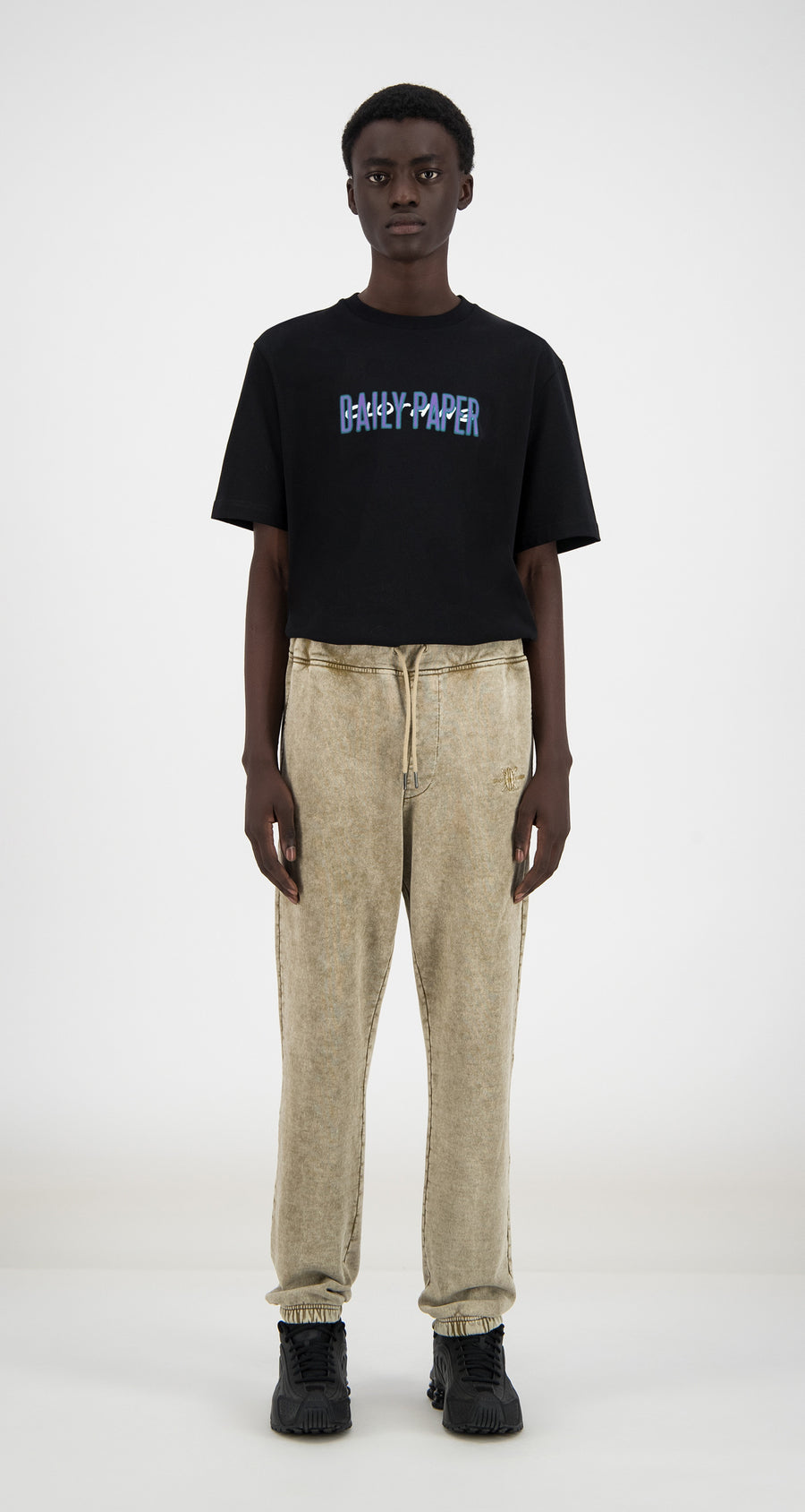 Daily Paper - Washed Sand Hacid Pants - Men Front