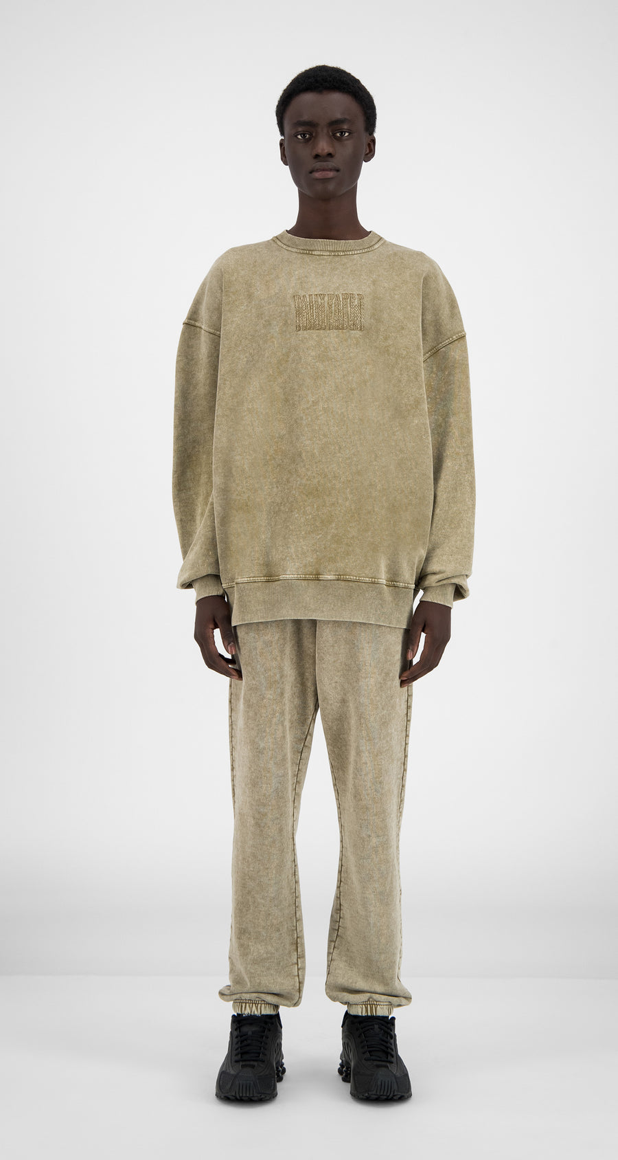 Daily Paper - Washed Sand Heracid Sweater - Men Front