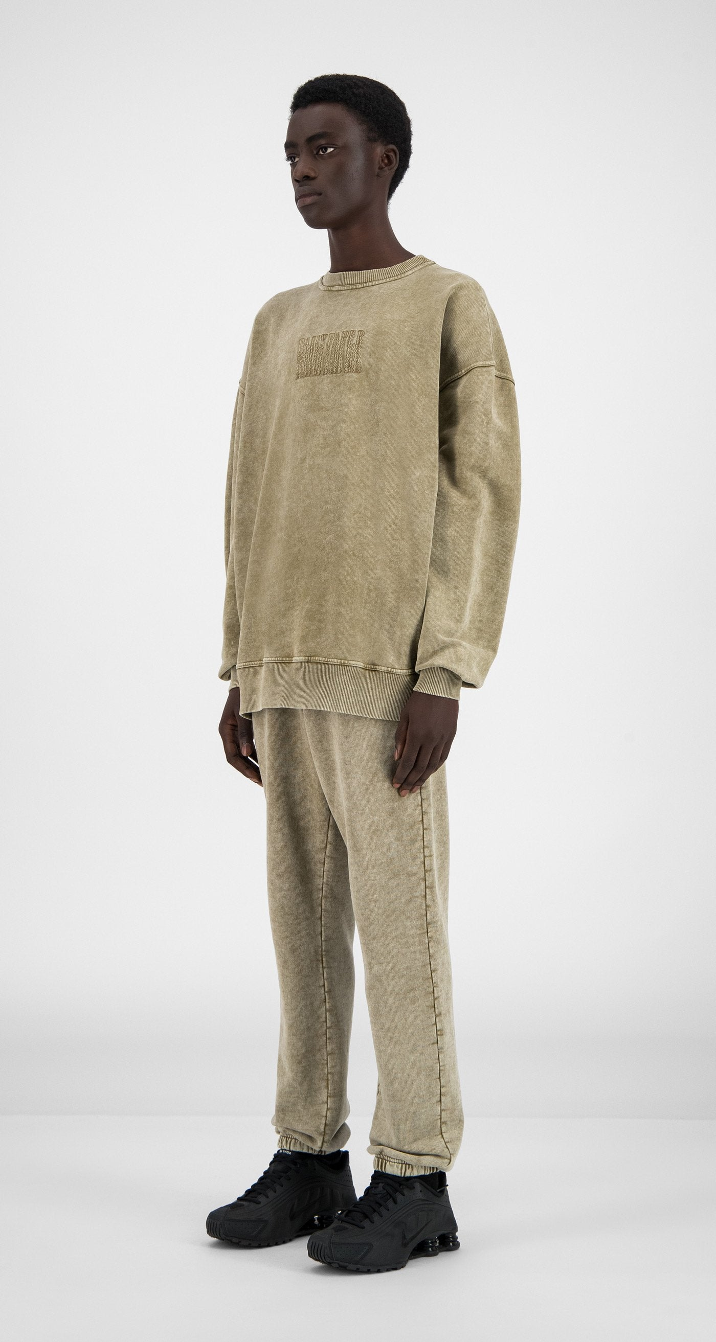 Daily Paper - Washed Sand Heracid Sweater - Men