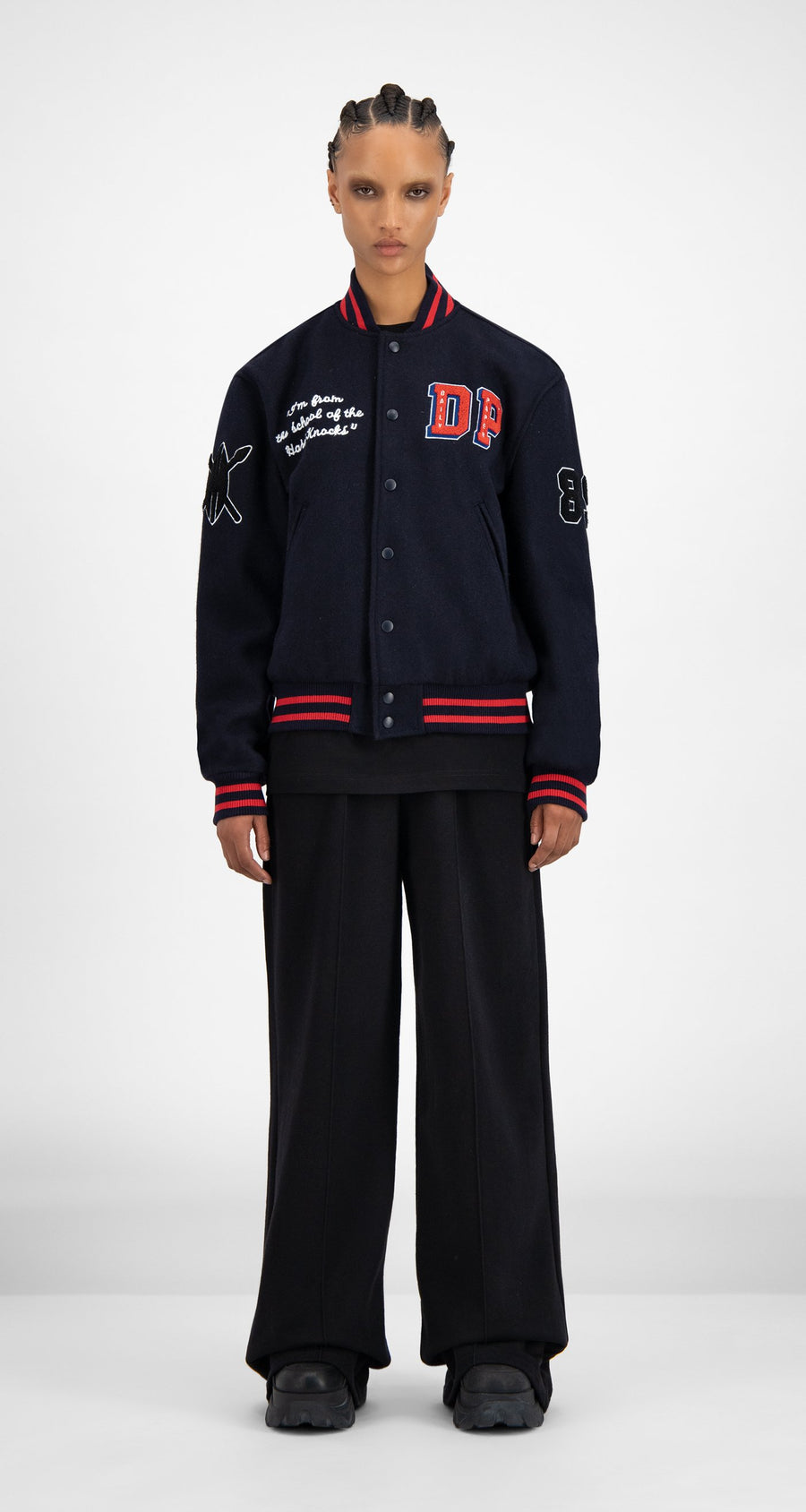Daily Paper - SOH Varsity Jacket - Women Front