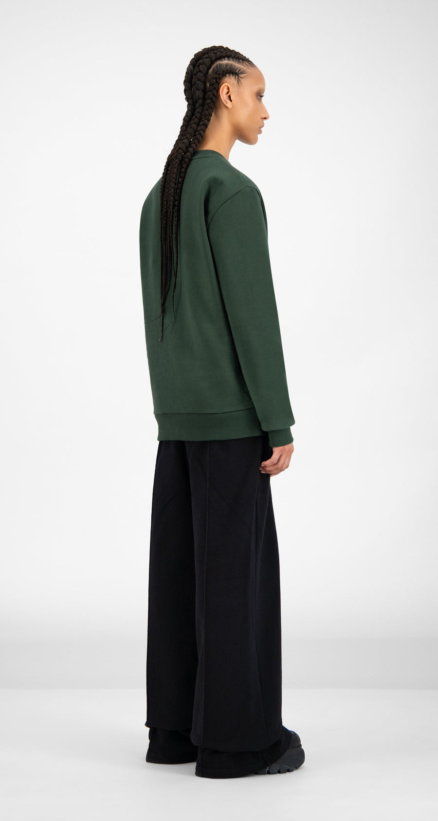 Daily Paper - SOH Mountain View Sweater - Women Rear