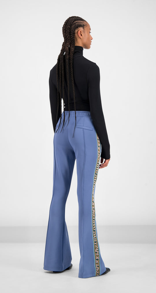 Daily Paper - Serenity Blue Glair Tape Pants Women Rear