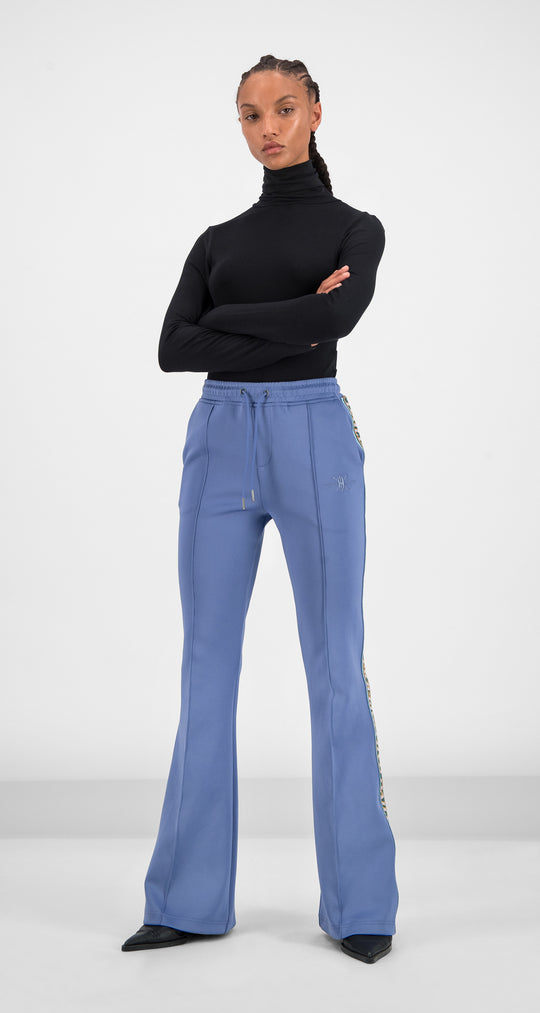 Daily Paper - Serenity Blue Glair Tape Pants Women Front
