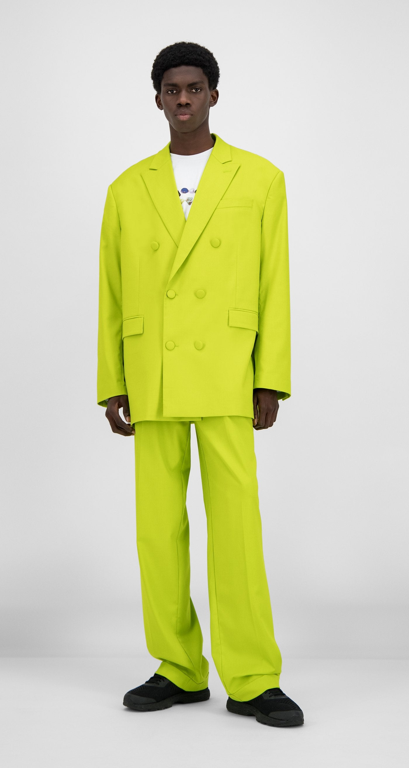 Daily Paper - Sharp Green Hecker Blazer - Men