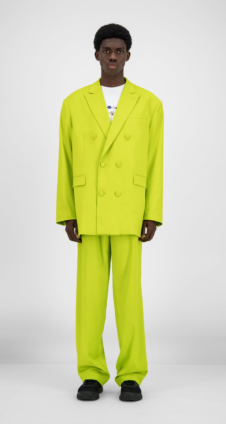 Daily Paper - Sharp Green Hecker Blazer - Men Front