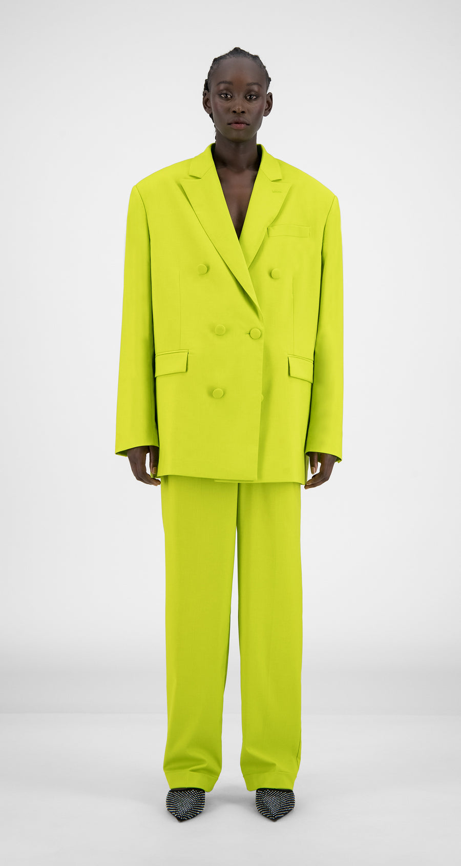 Daily Paper - Sharp Green Hecker Blazer - Women Front