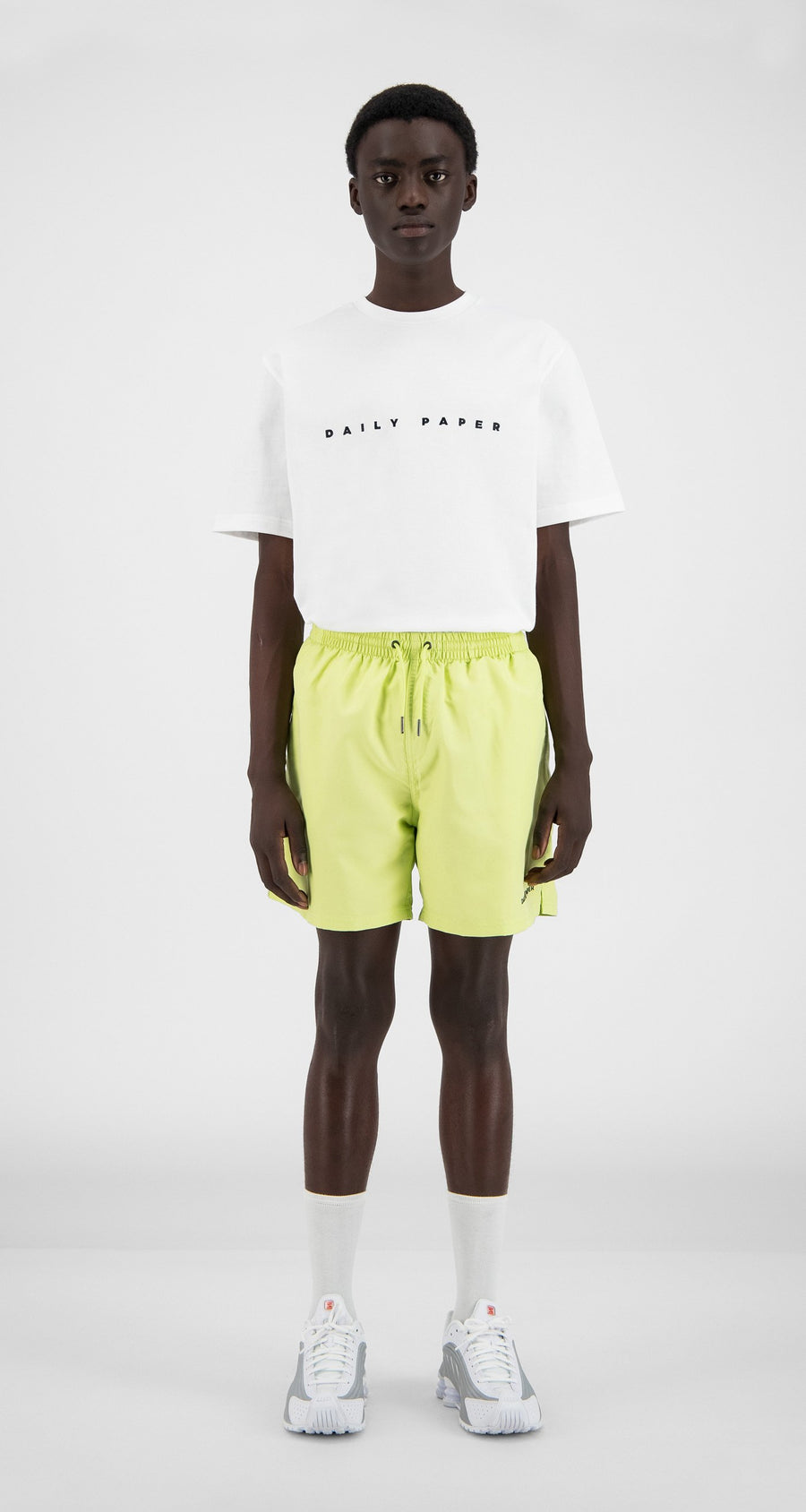 Daily Paper - Sharp Green Water Activated Swimshorts - Men Front
