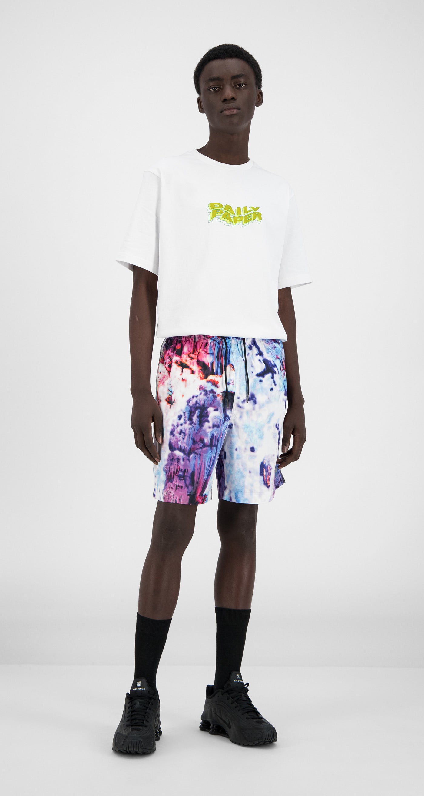 Daily Paper - Spacy Cave Hali Swim Shorts - Men Front
