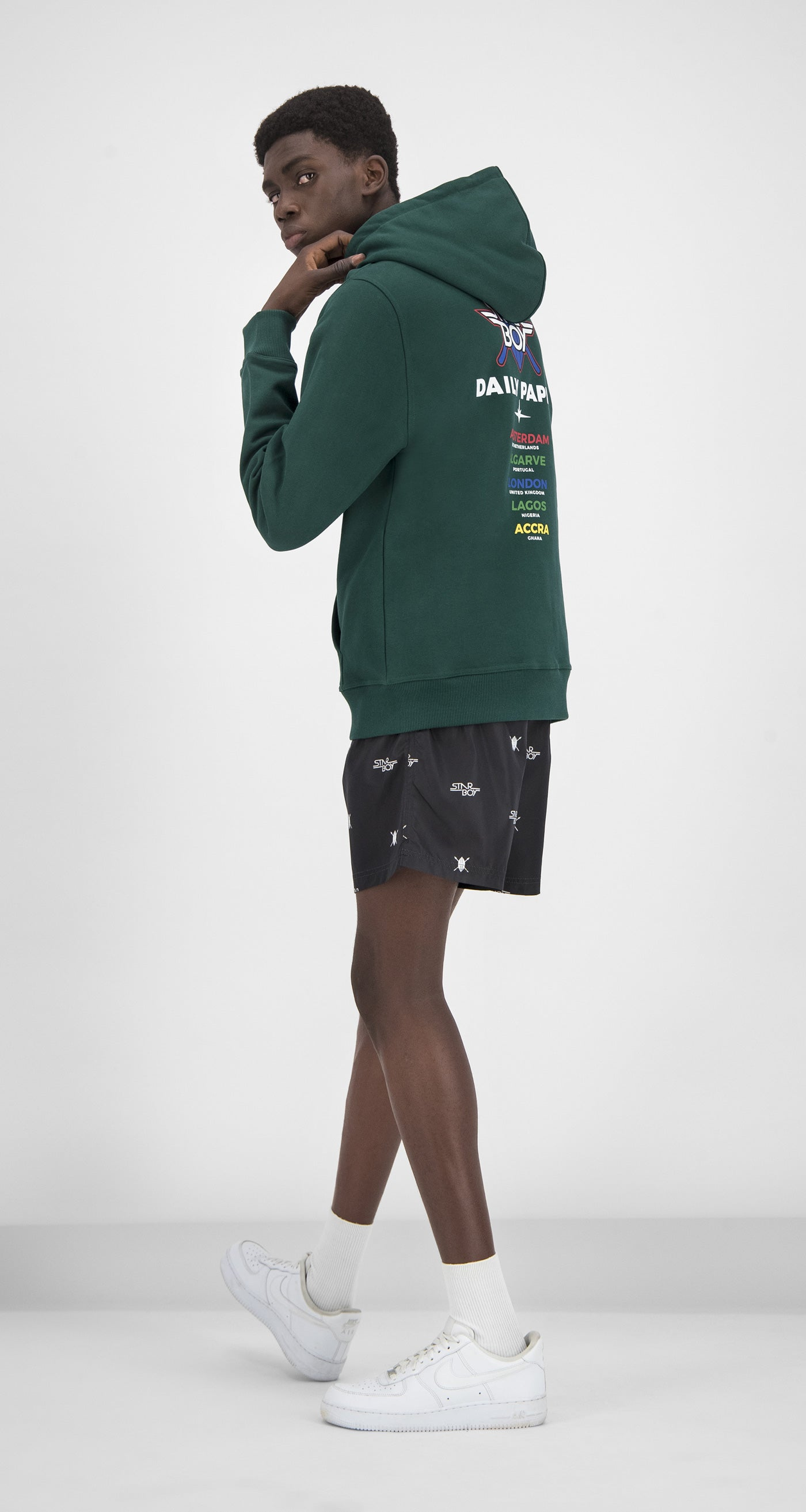 Daily Paper x STARBOY Green City Hoody - Men