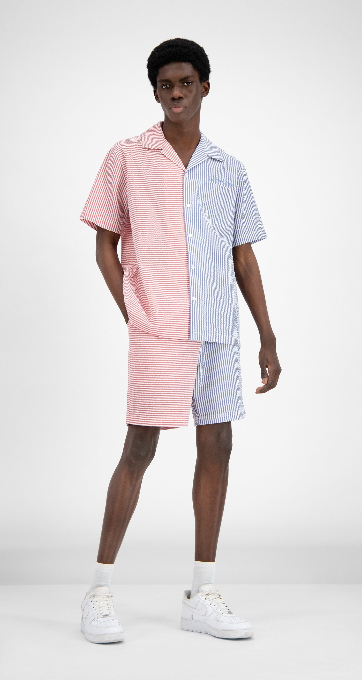 Daily Paper - Striped Reseer Shirt - Men