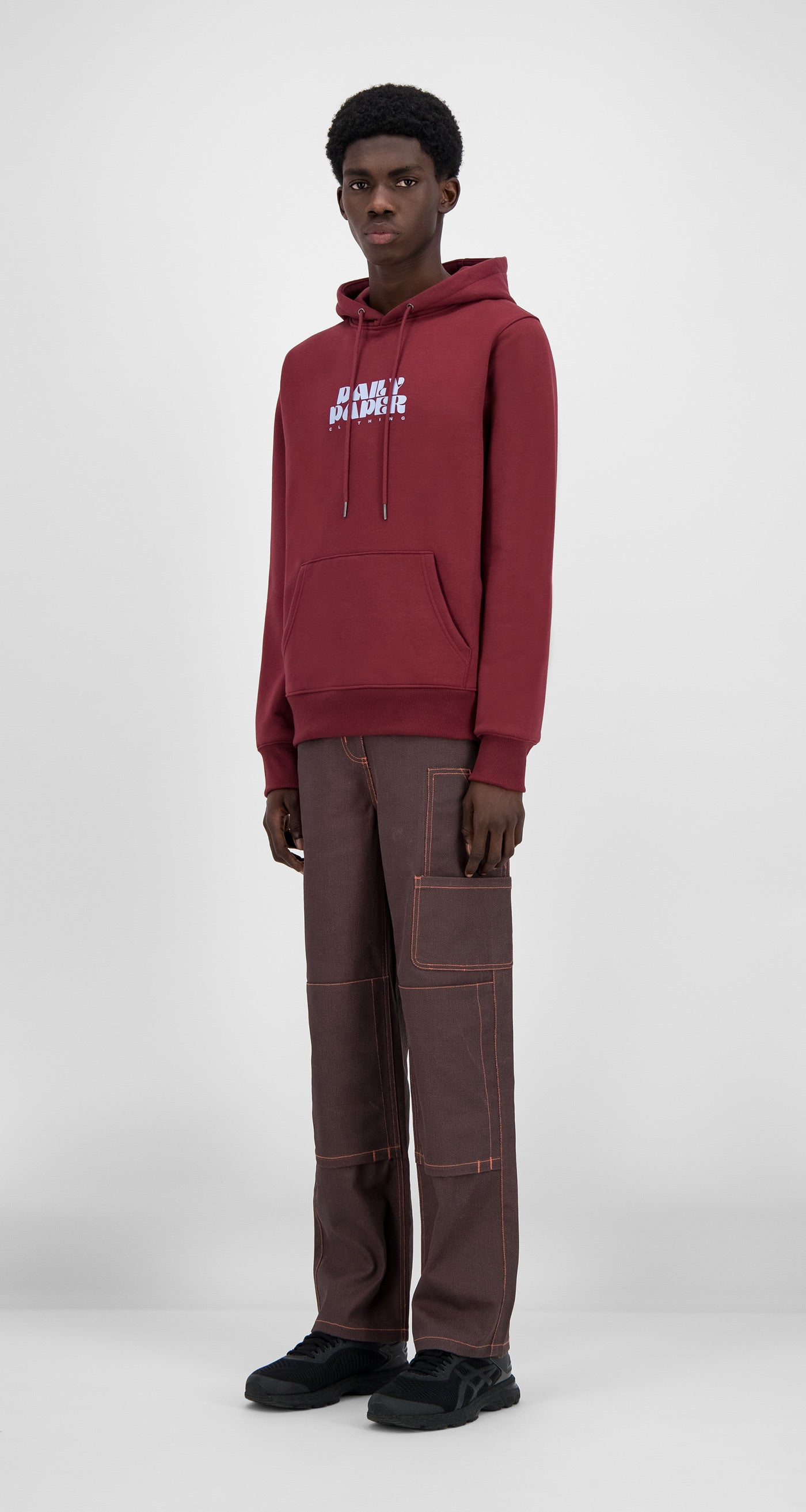 Daily Paper - Syrah Red Hasy Hoody - Men