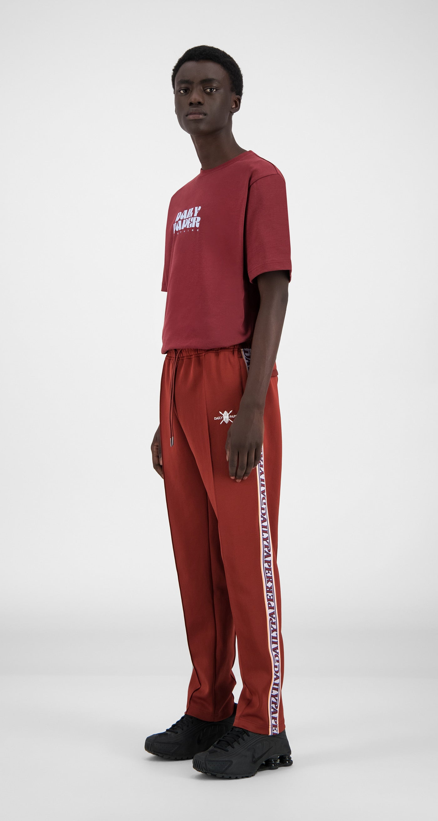Daily Paper - Syrah Red Liba Pants - Men