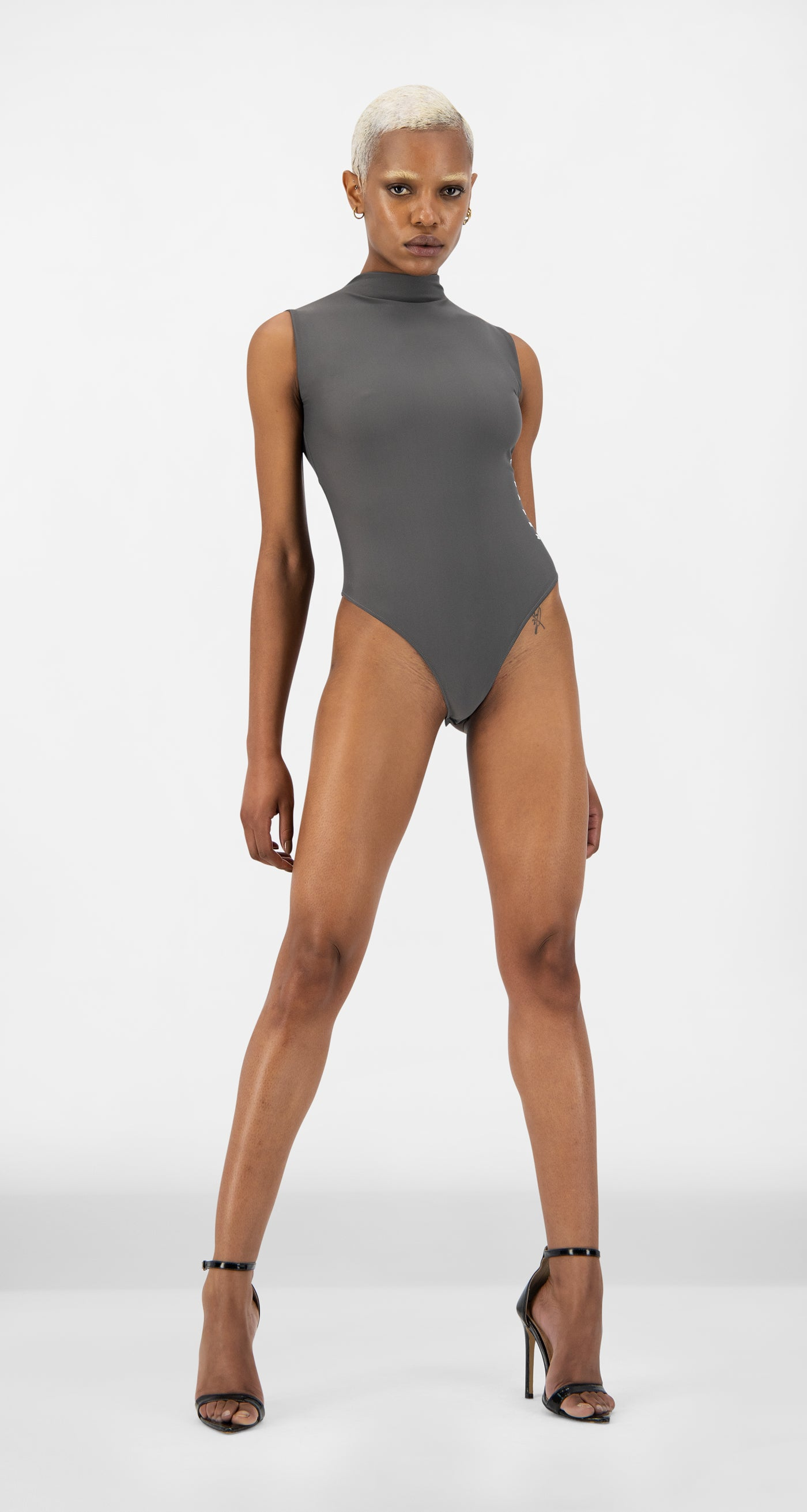 Daily Paper - Titanium Grey Eturtle Body - Women Rear