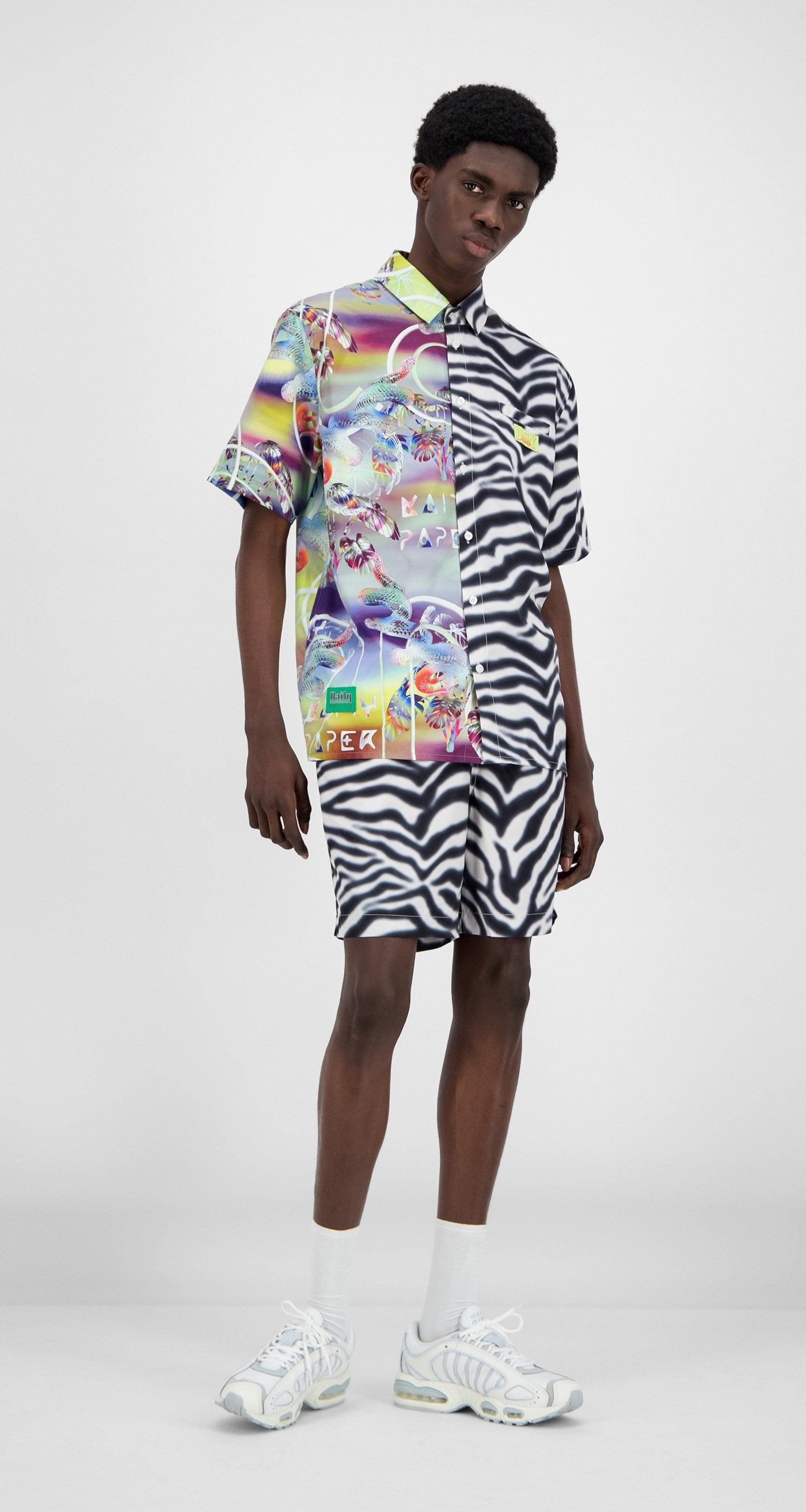 Daily Paper - Tropical Snake Zebra Hymie Shirt - Men