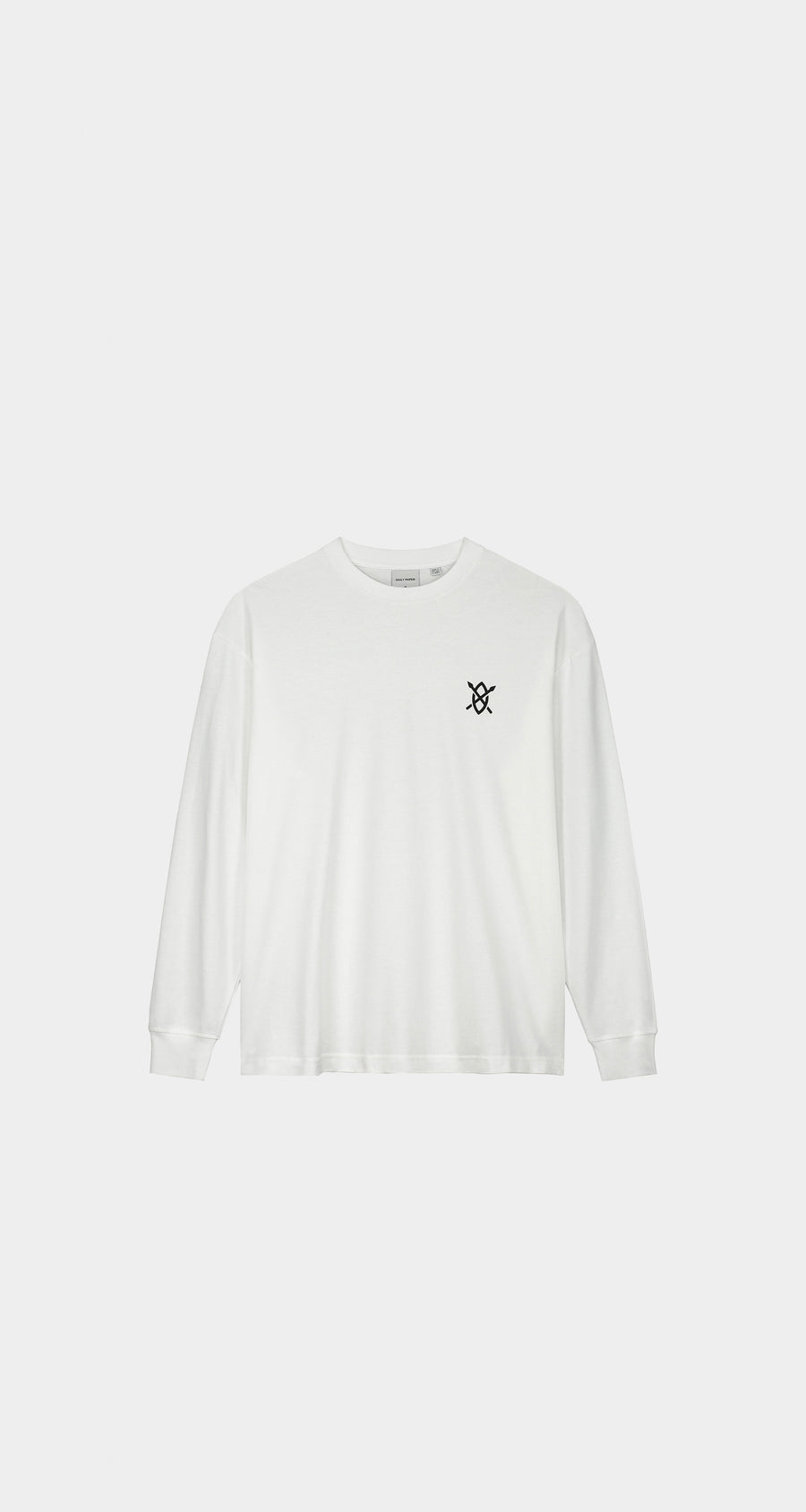 Daily Paper - White Amsterdam Flagship Store Longsleeve - Men Rear
