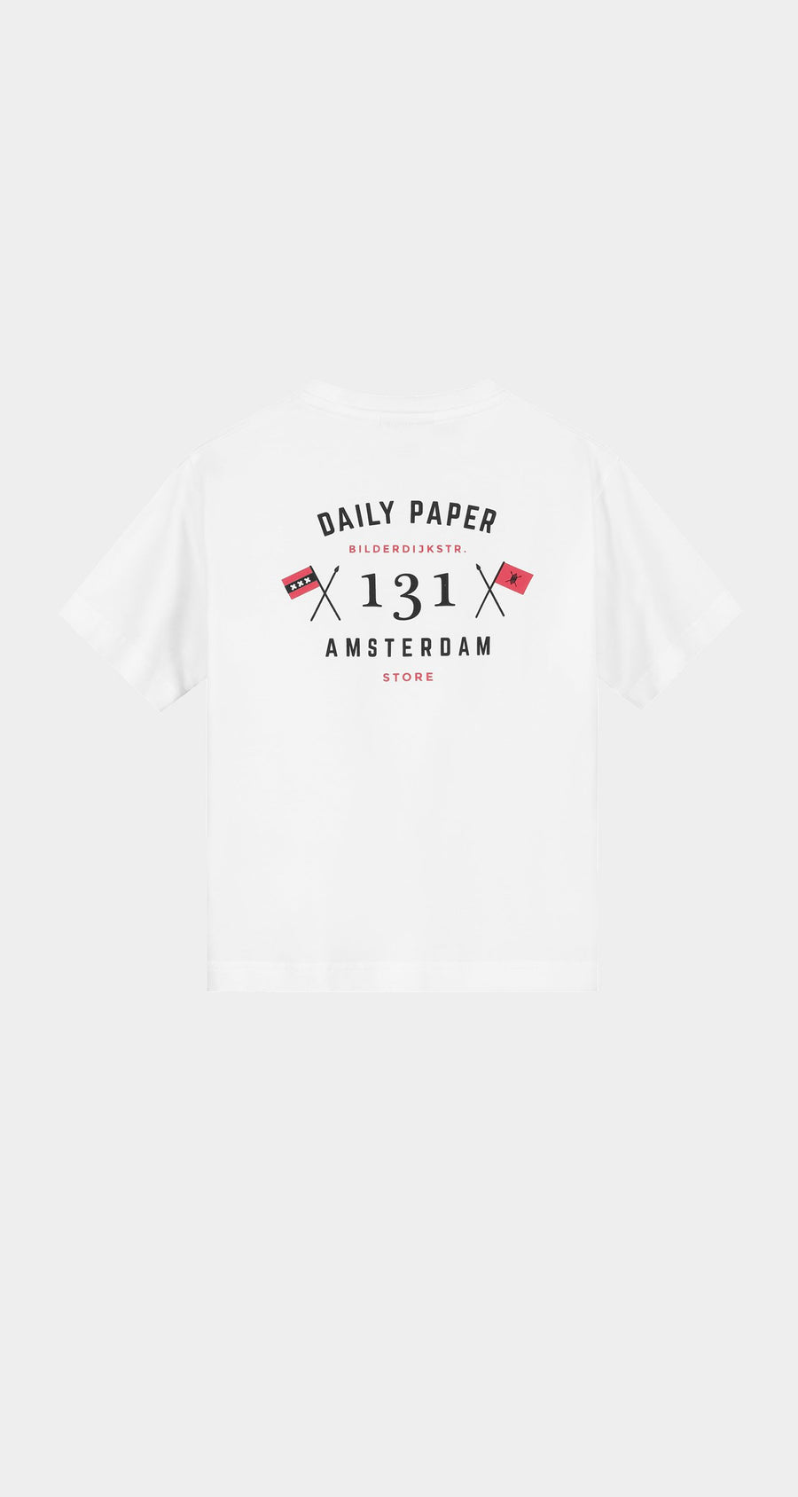 Daily Paper - White Kids Store T-Shirt Rear