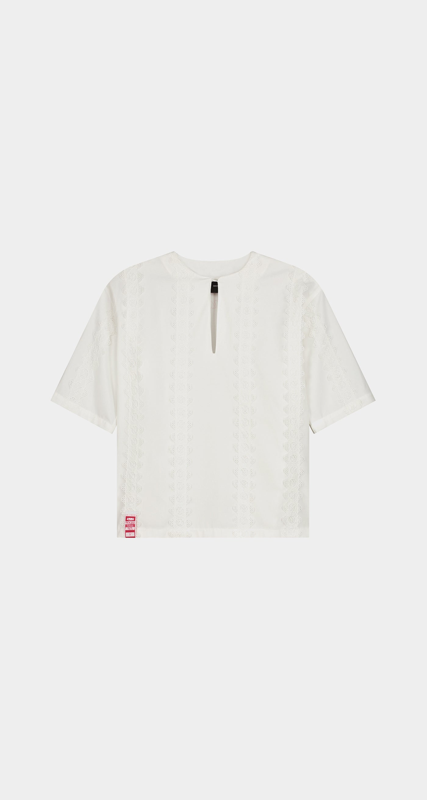 Daily Paper - Off White Khalaf Shirt - Men Front