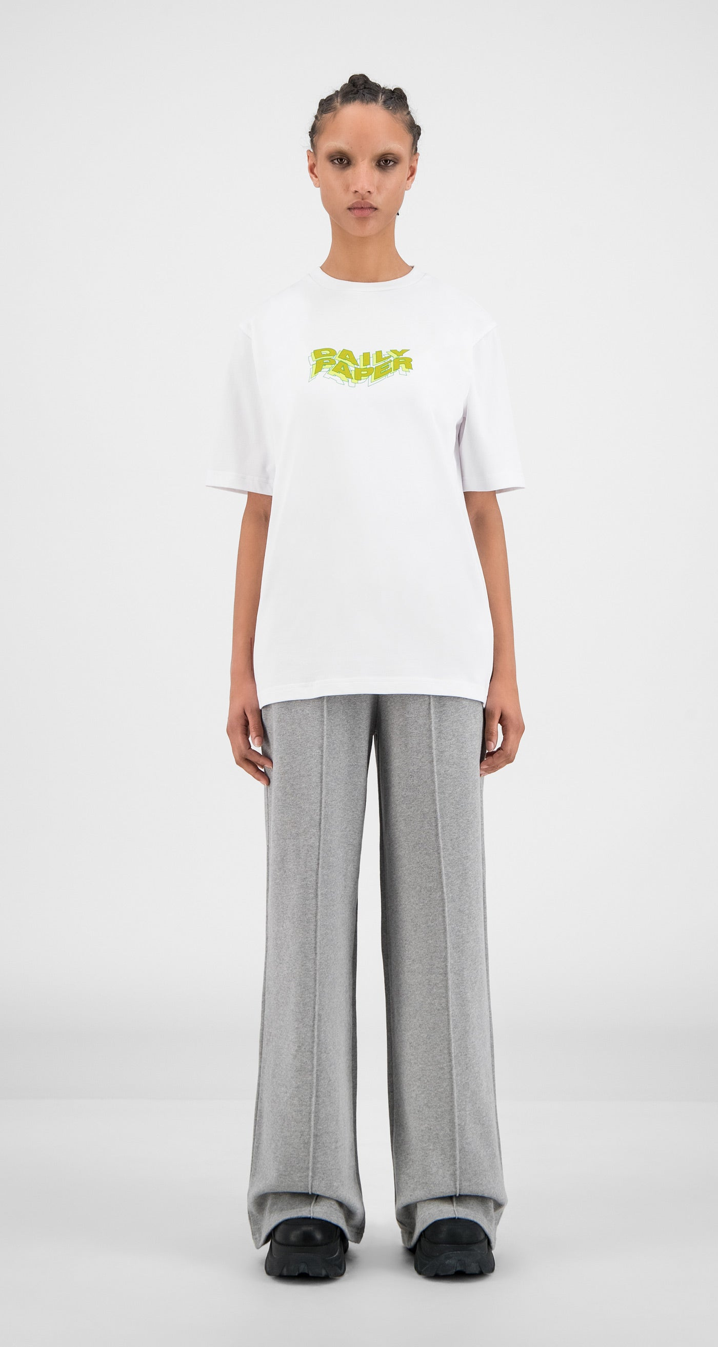 Daily Paper - White Horwhi T-Shirt - Women Front