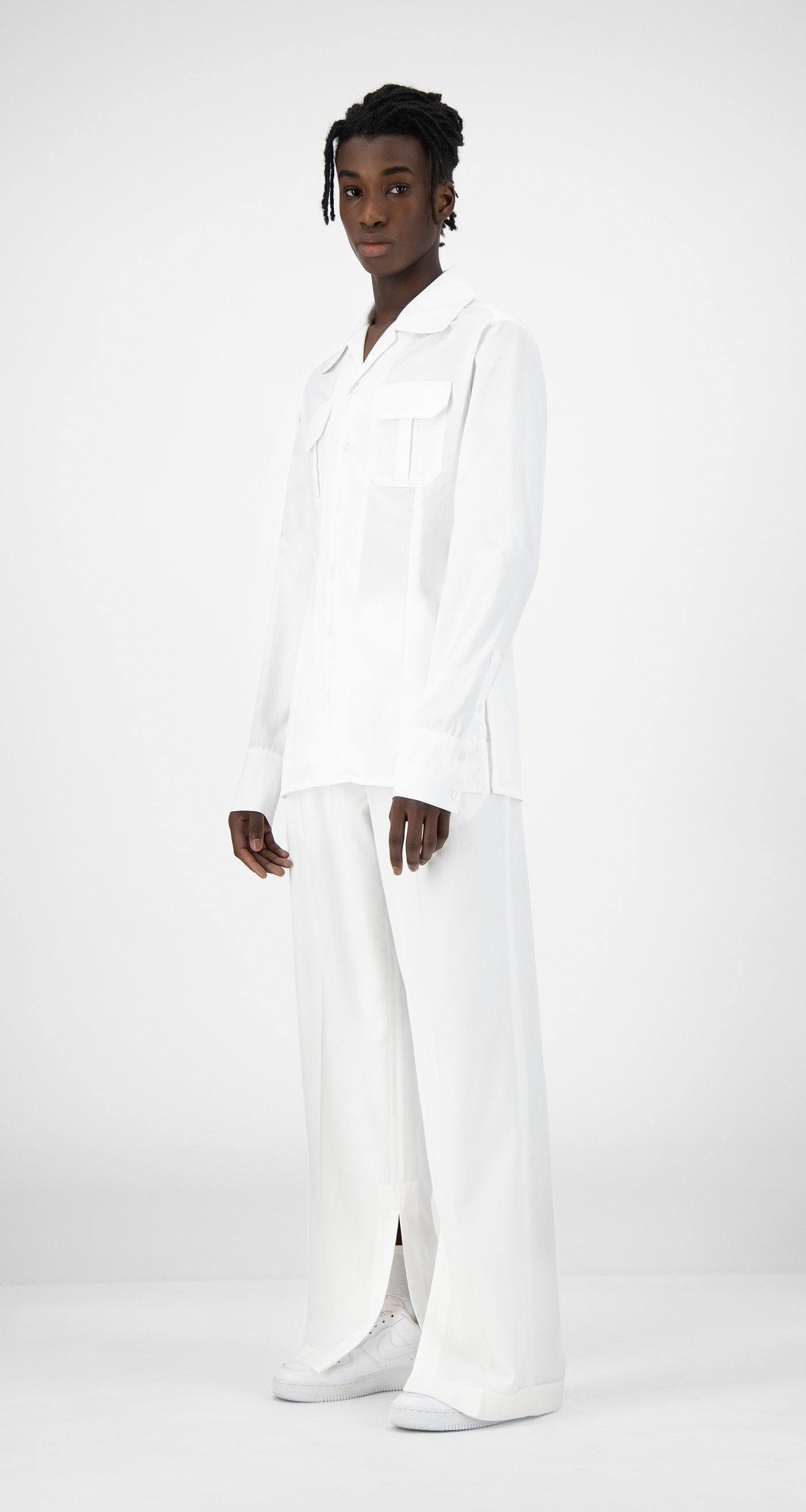 Daily Paper - White Kaleb Shirt - Men