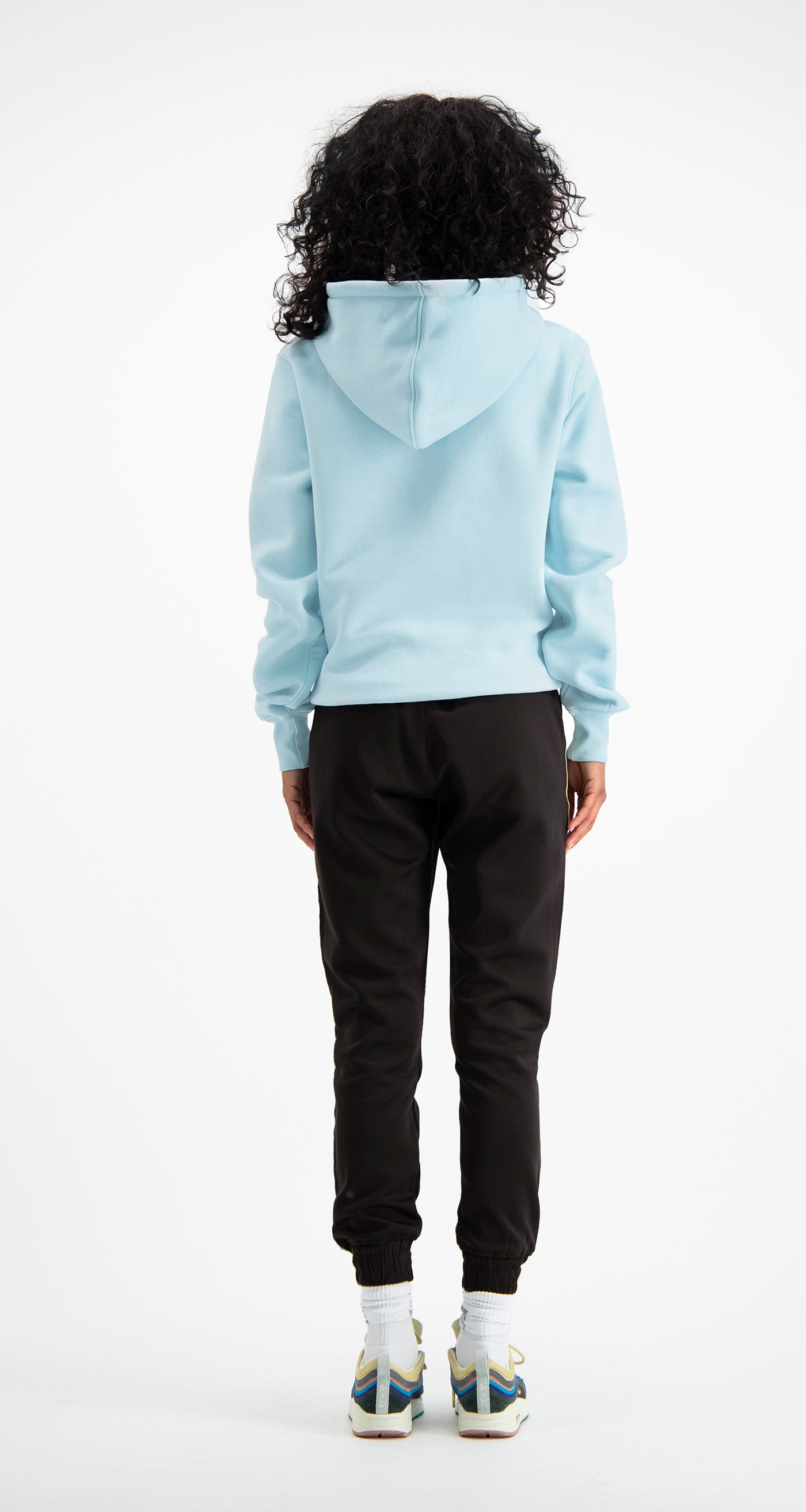 Pastel Blue Copatch Hoody