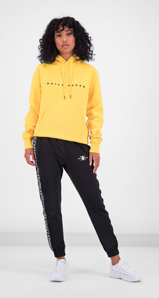 Daily Paper - Yellow Alias Hoody Women Front