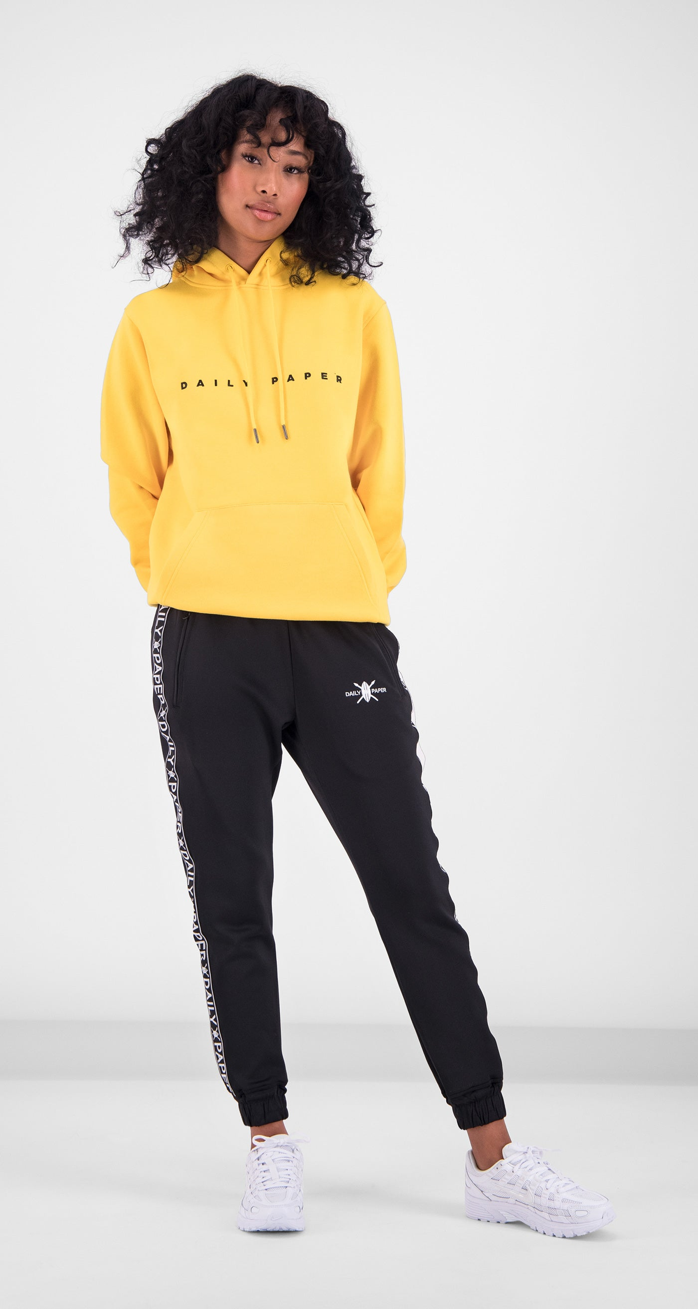 Daily Paper - Yellow Alias Hoody Women