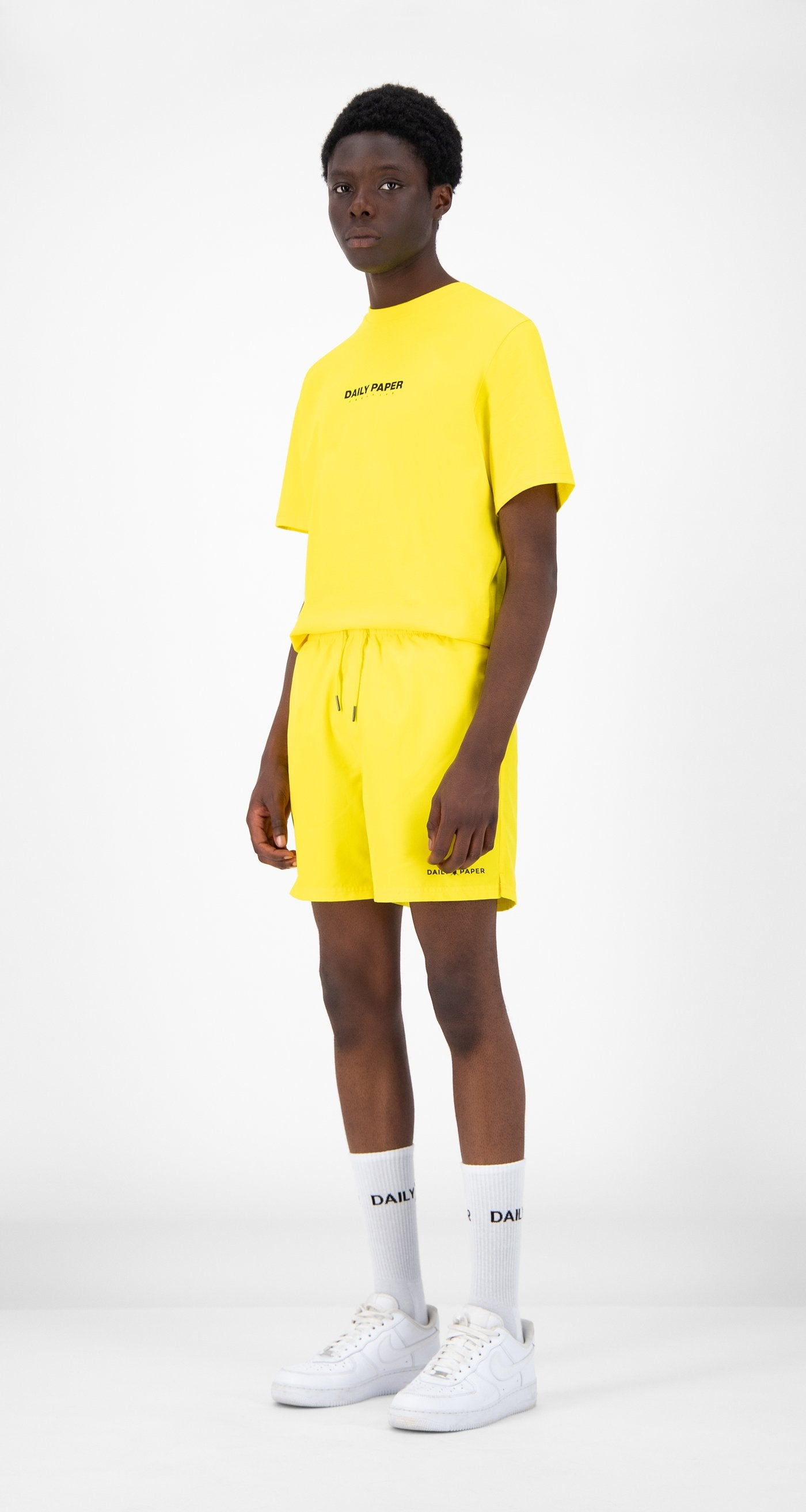 Daily Paper - Yellow Water-Activated Swim Shorts - Men