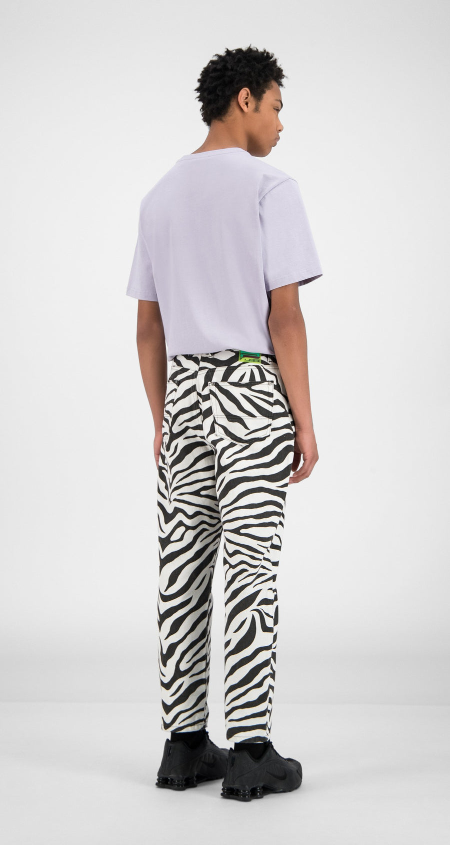 Daily Paper - Zebra Denim Harzeb Pants - Men Rear