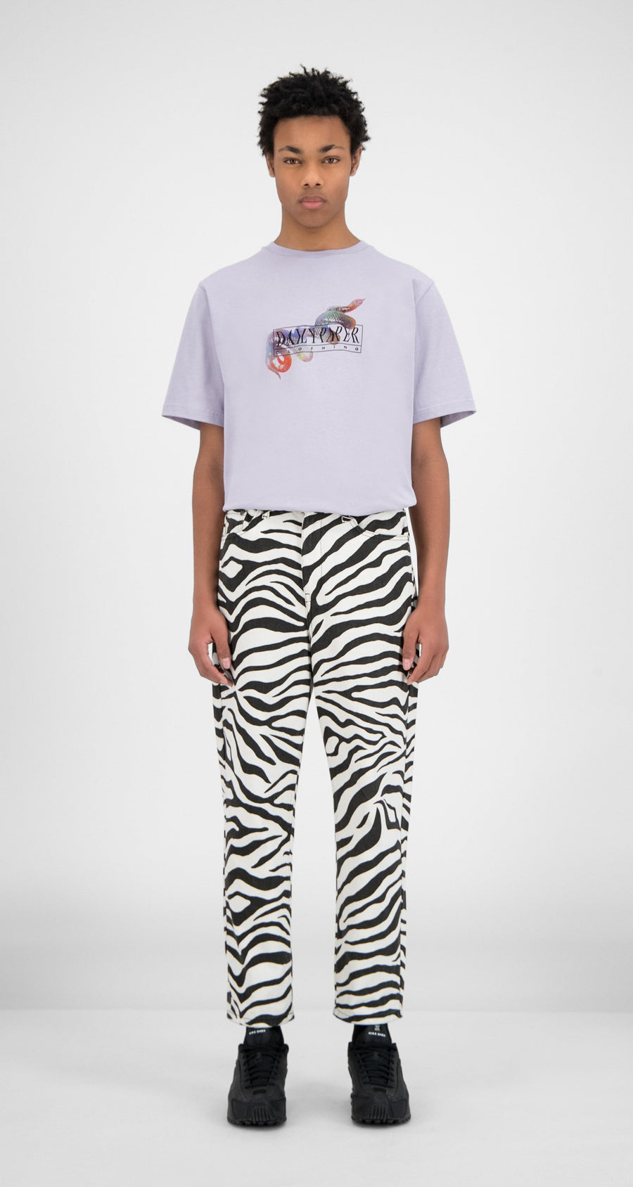 Daily Paper - Zebra Denim Harzeb Pants - Men Front