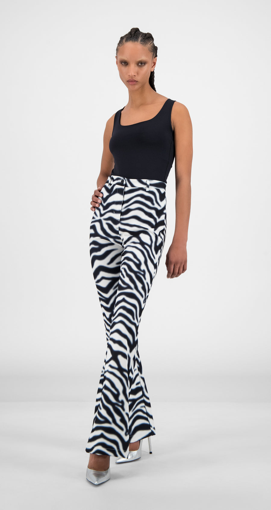 Daily Paper - Zebra Hady Pants - Women Rear