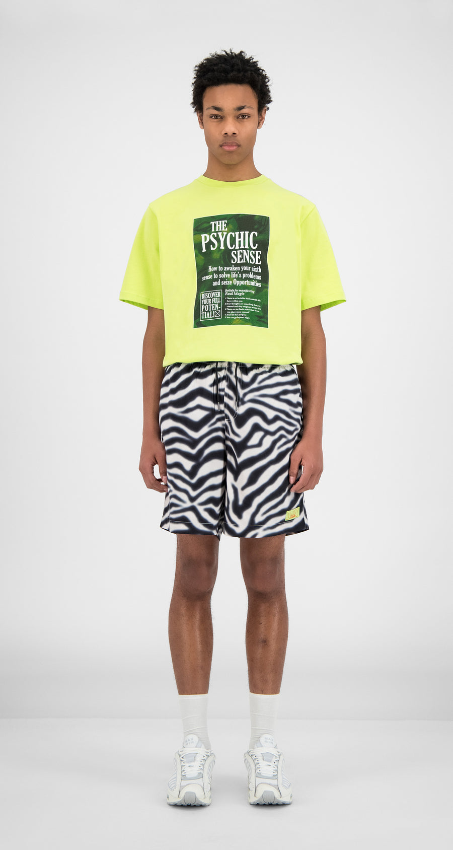 Daily Paper - Zebra Hali Swim Shorts - Men Front