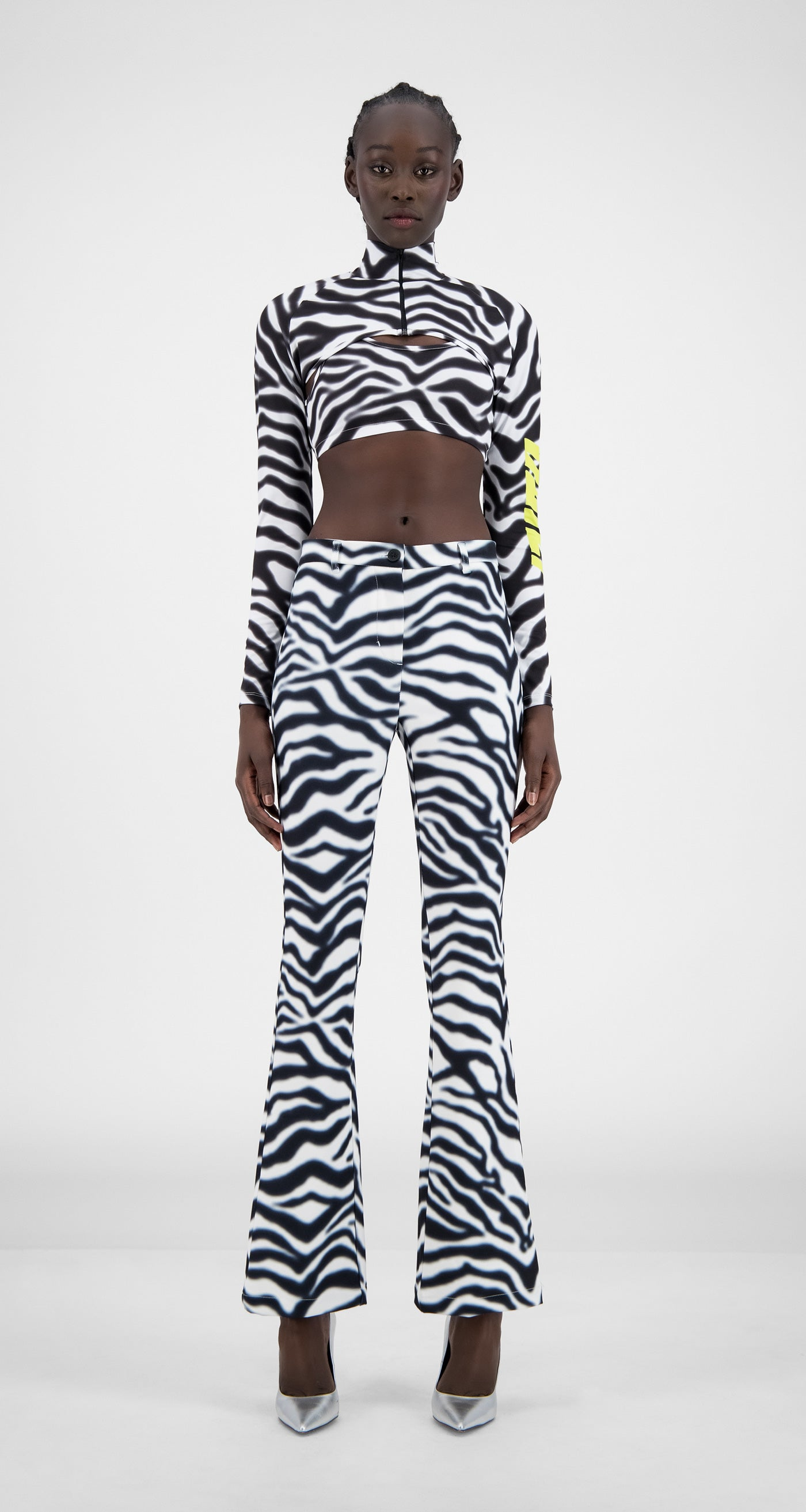 Daily Paper - Zebra Holero Top - Women Front