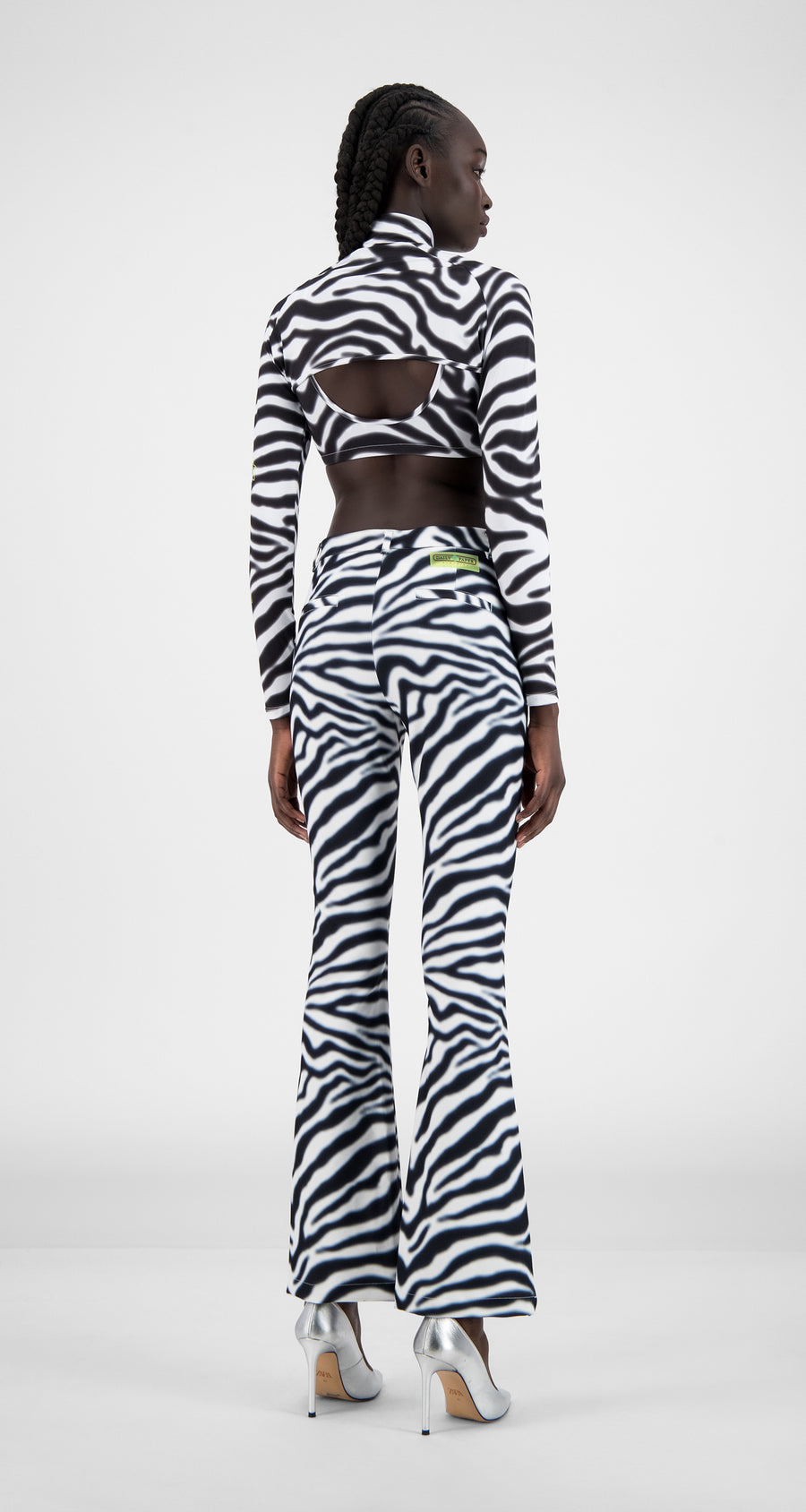 Daily Paper - Zebra Holero Top - Women Rear