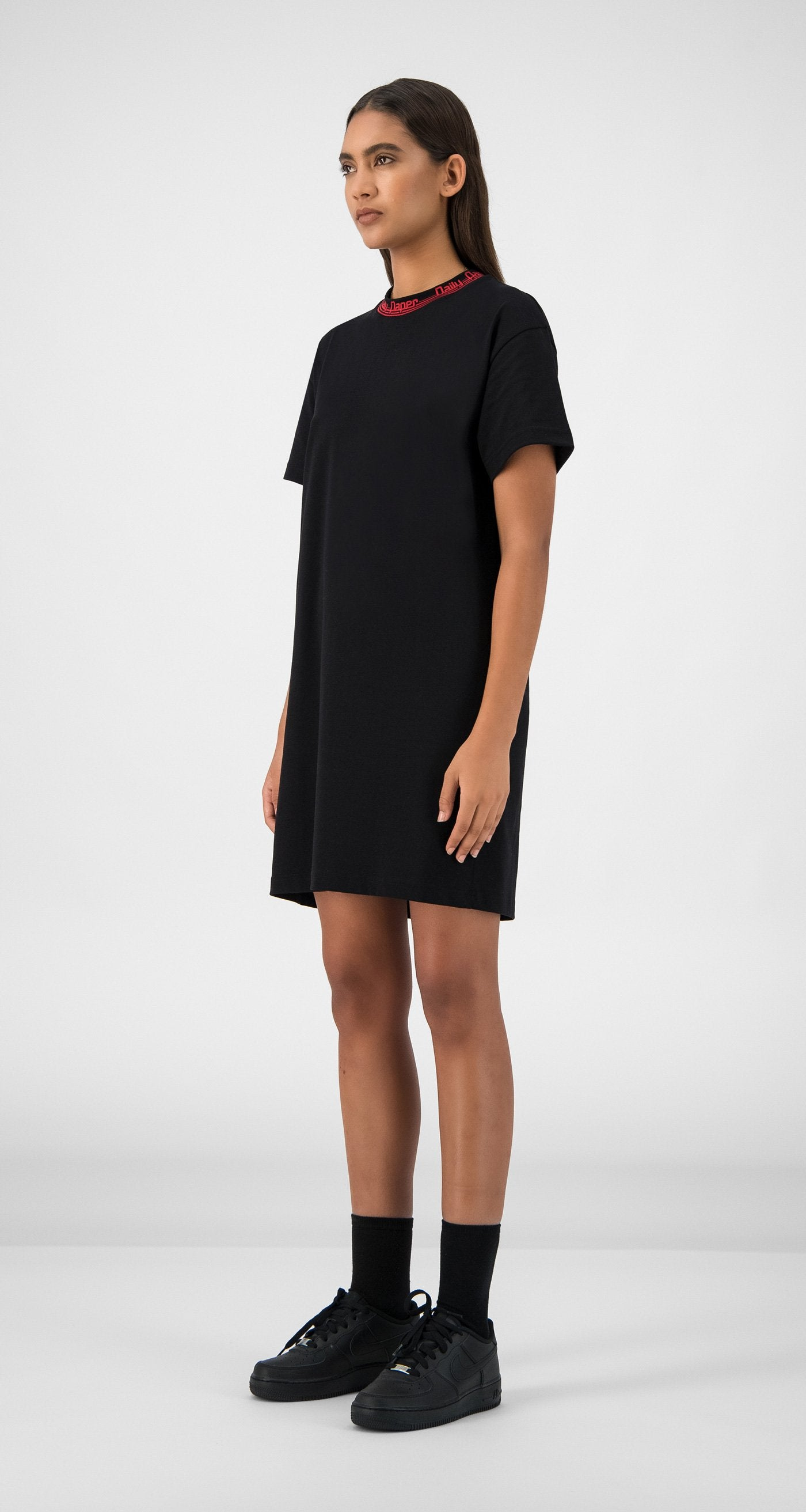 Daily Paper - Black Erib Dress Women