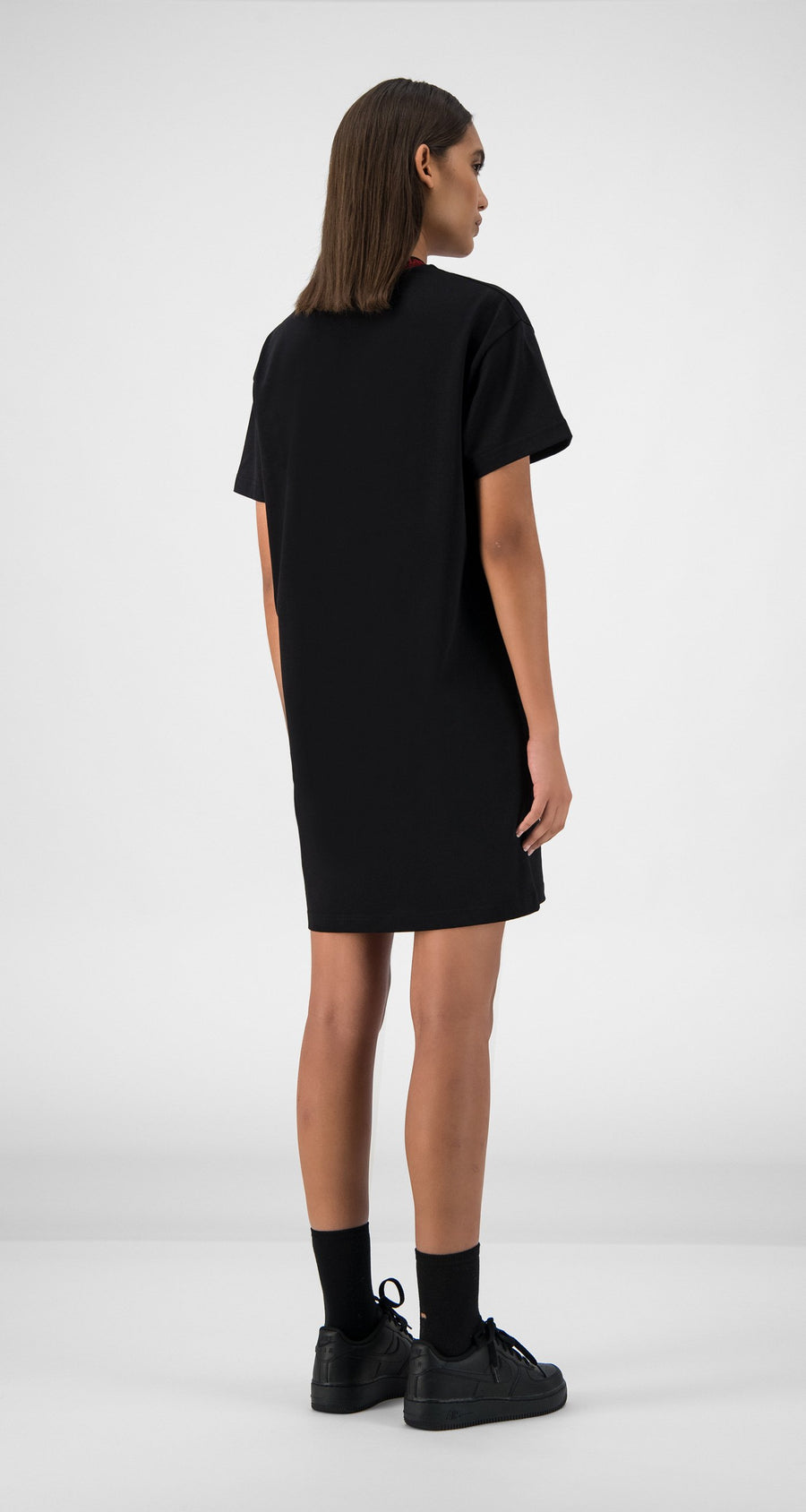 Daily Paper - Black Erib Dress Women Rear