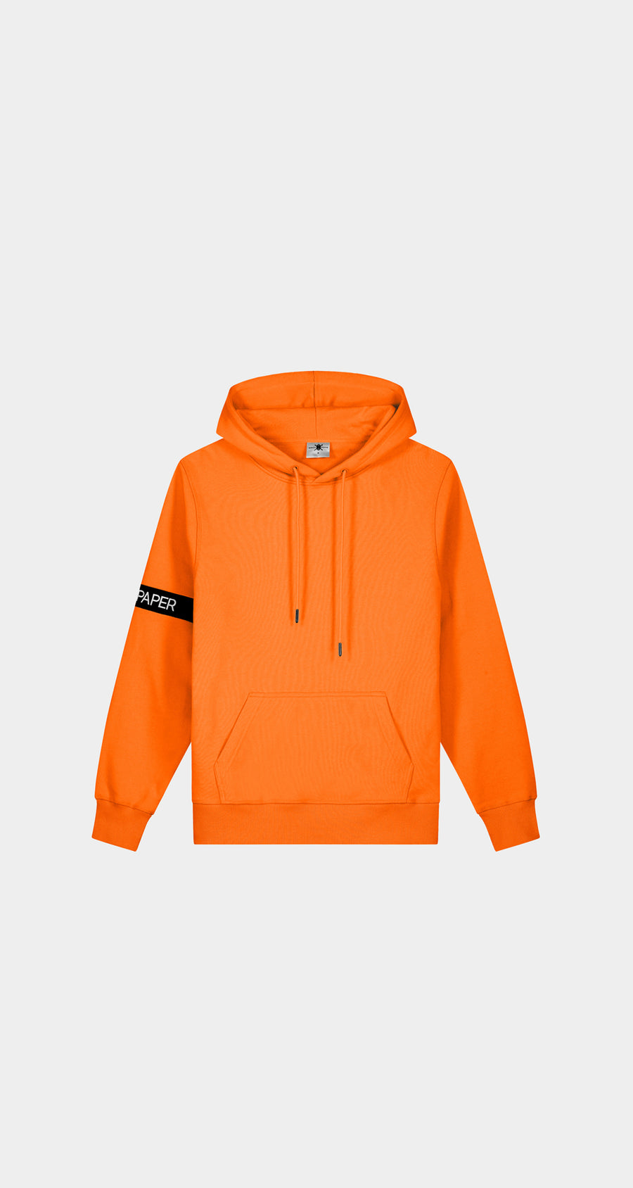 Daily Paper - Flame Orange Caption Hoody - Men Front