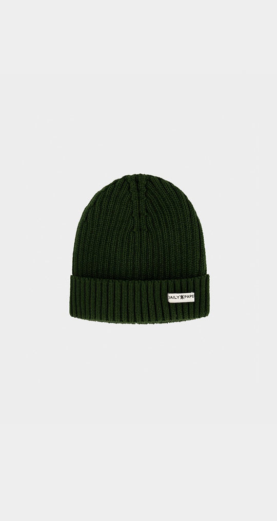 Daily Paper - Green Daily Beanie Front