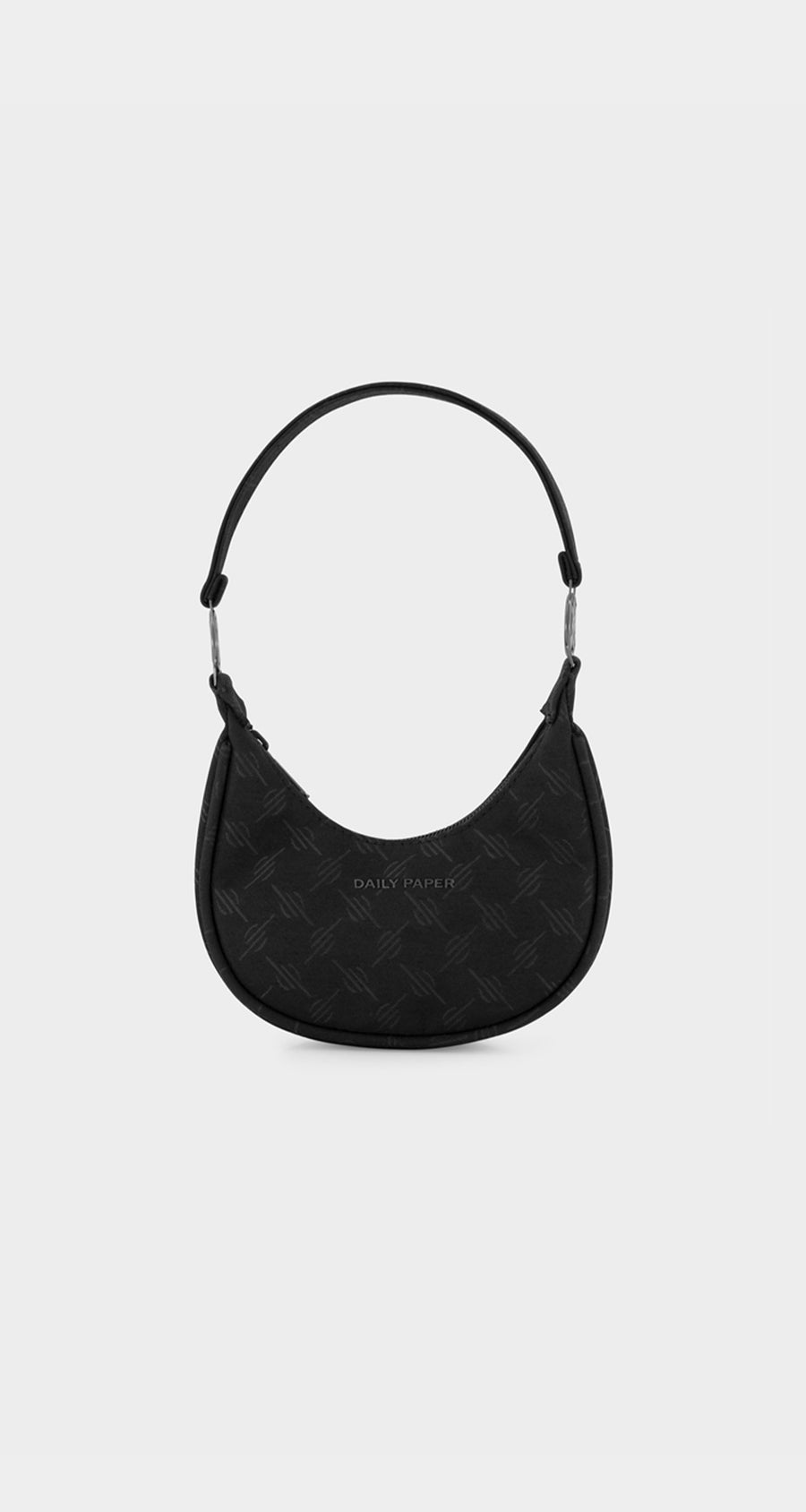 Daily Paper - Black Monogram Hoci Bag - Front