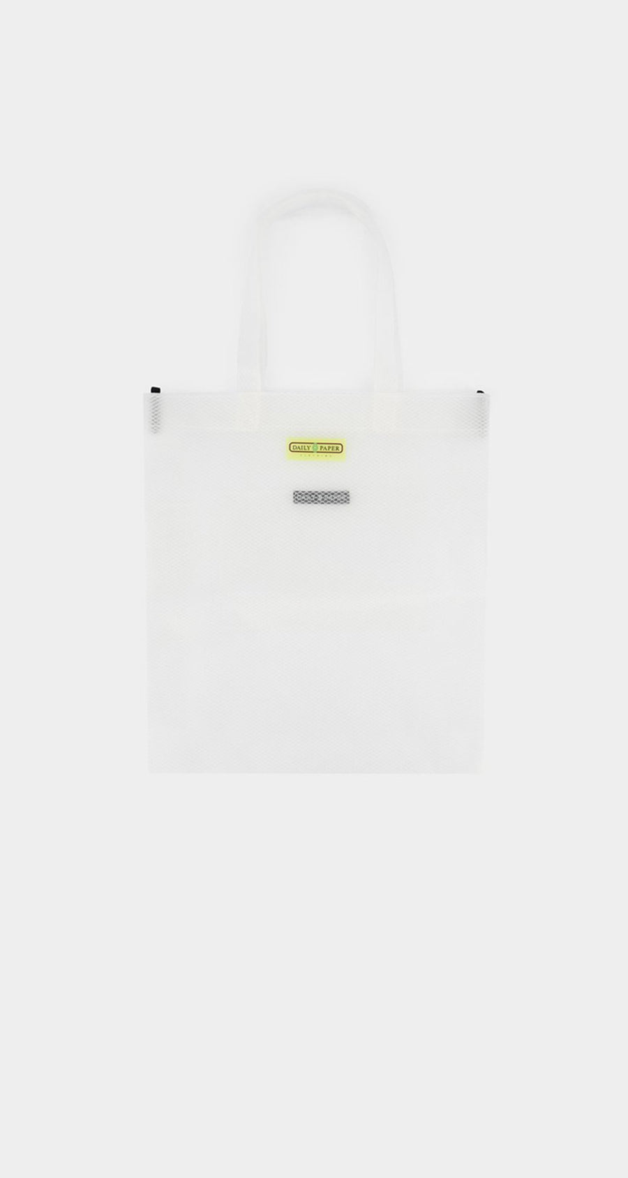 Daily Paper - White Mesh Honty Totebag - Front