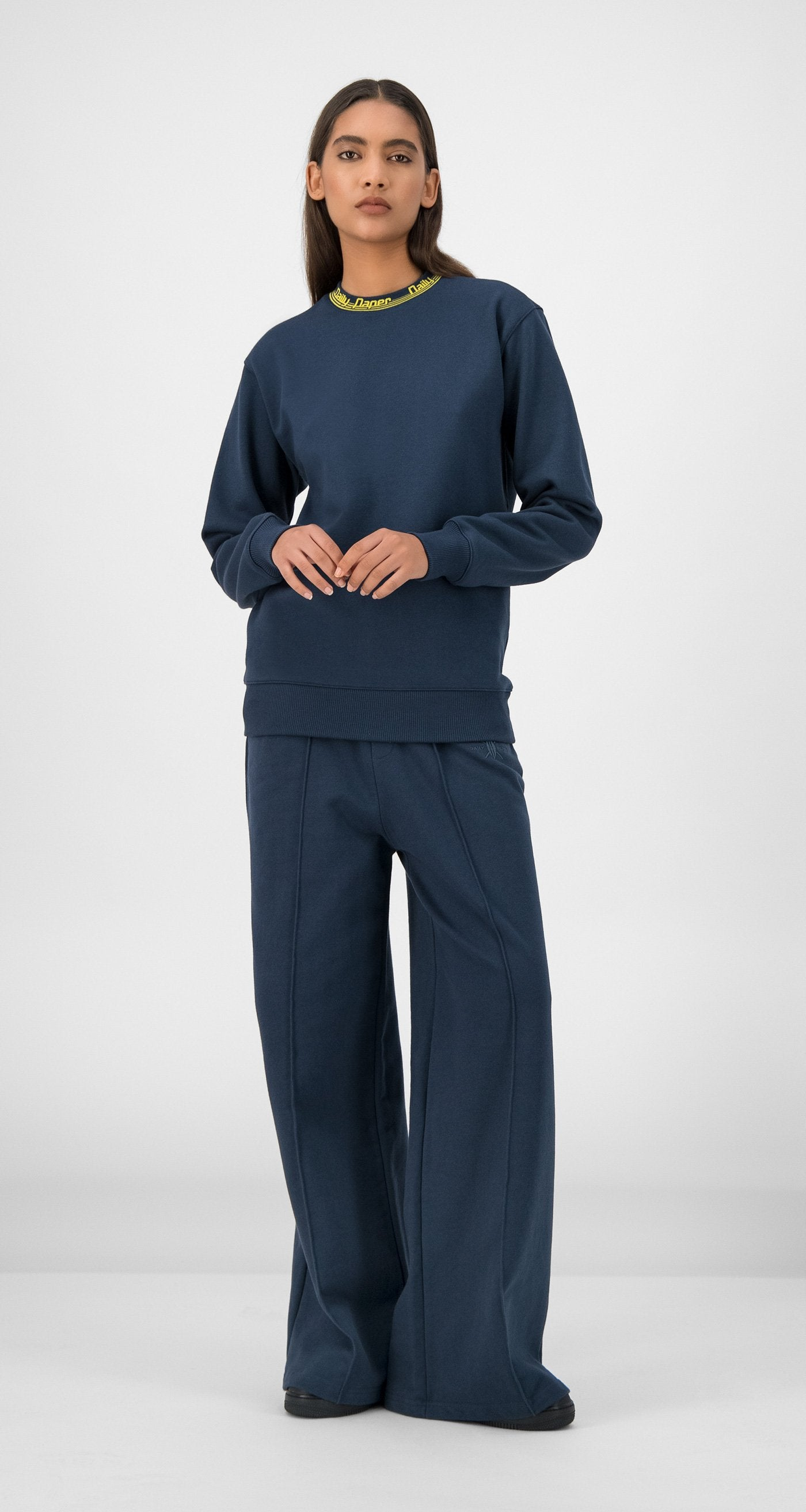 Daily Paper - Navy Erib Sweater Women