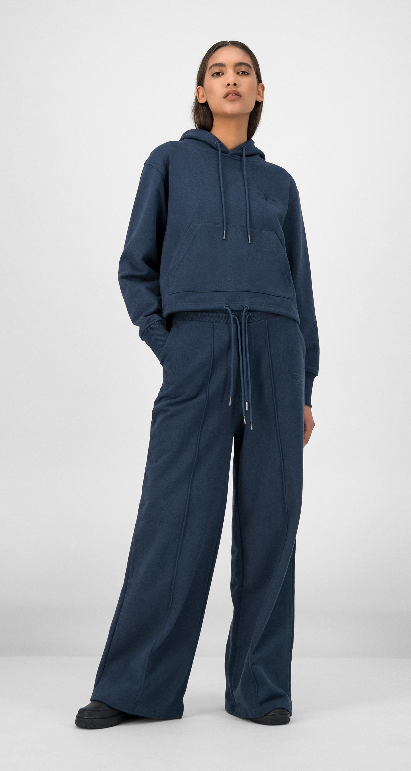 Daily Paper - Navy GIfa Pants Women Front