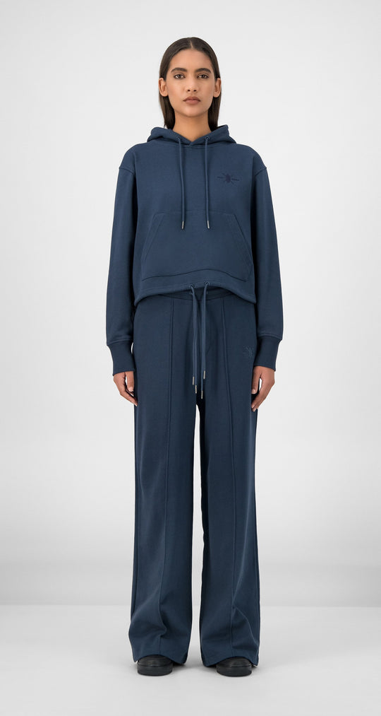 Daily Paper - Navy Gowa Hoody Women Front