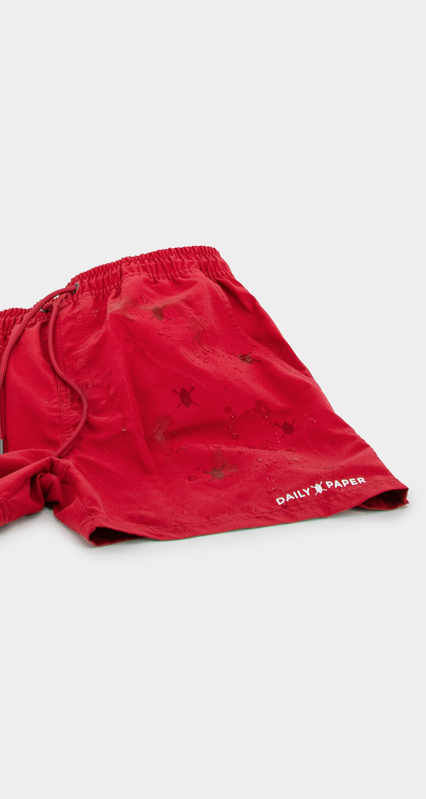 Daily Paper - Red Water-Activated Swimshort Men
