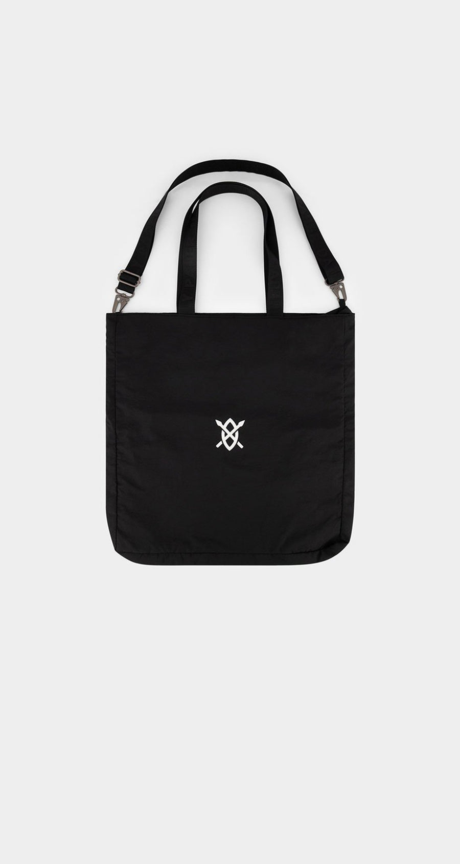 Daily Paper - Black Etote Bag - Front