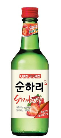 Rượu Soju Dâu Chum Churum 360ml